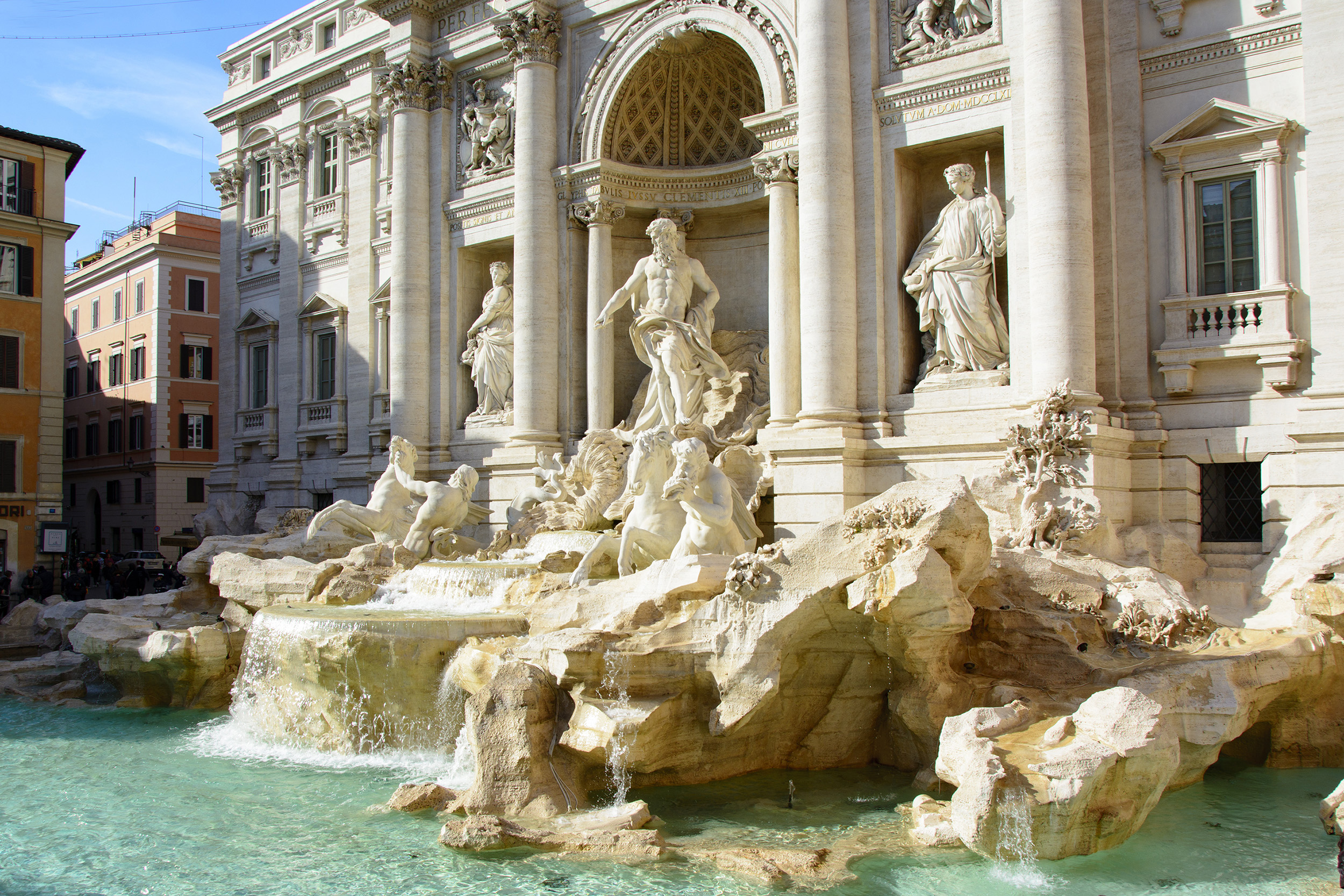 Fontana di Trevi Weekend i Rom tio bästa tips