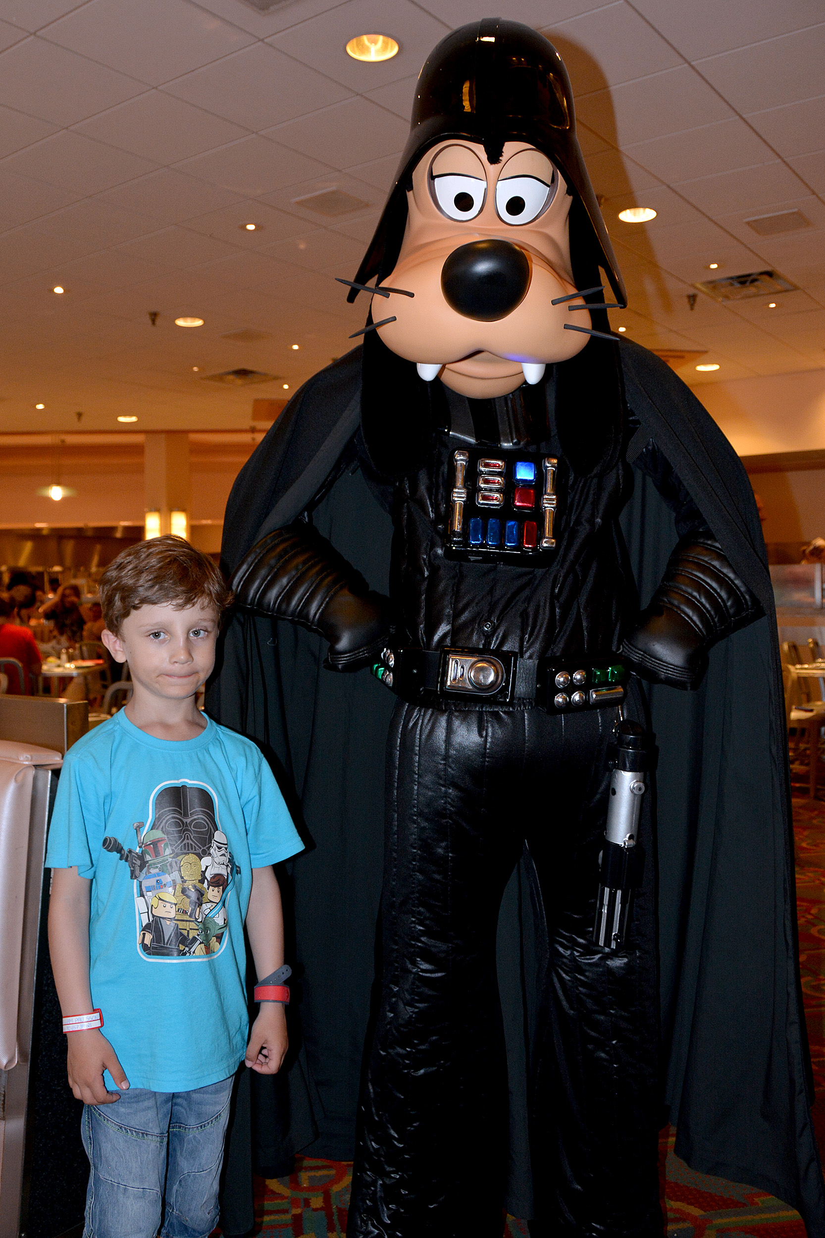 Goofy Darth Vader Star Wars weekends
