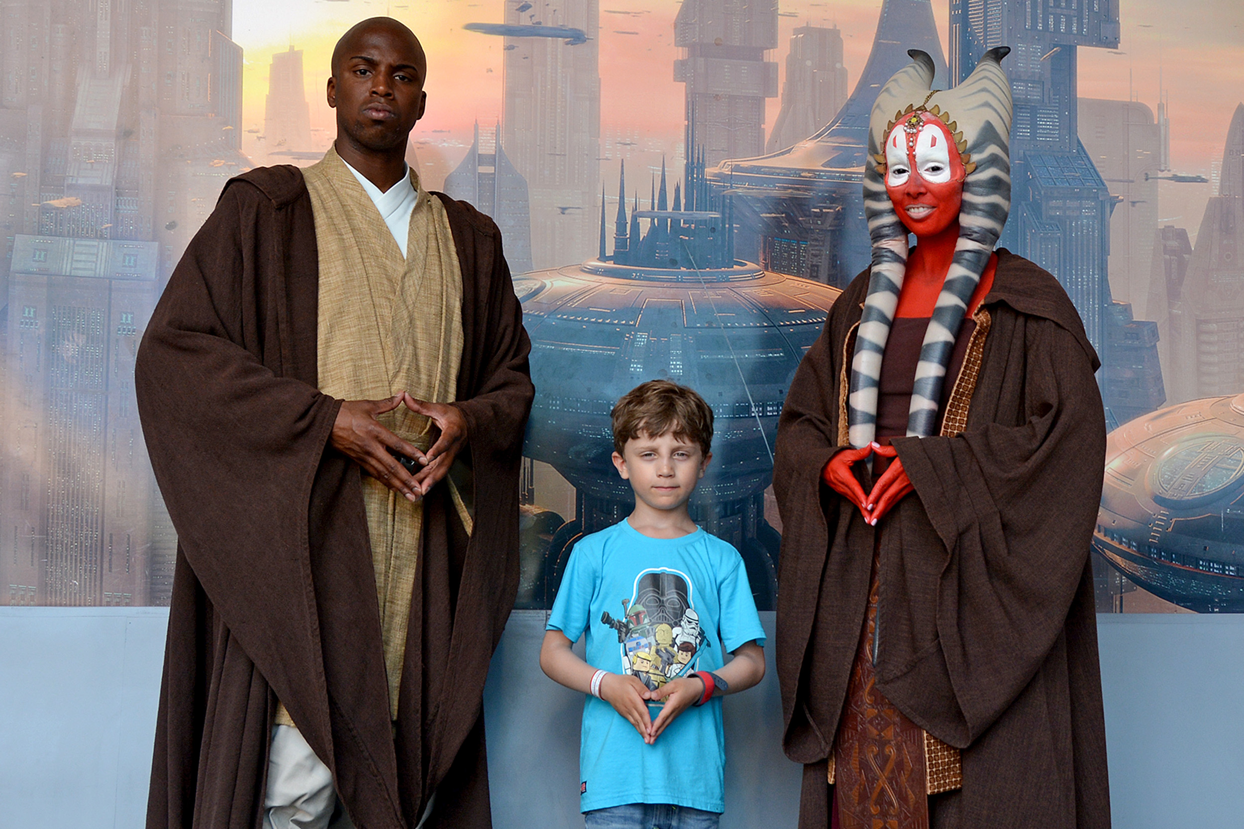 Mace Windu och Shaak Ti Star Wars