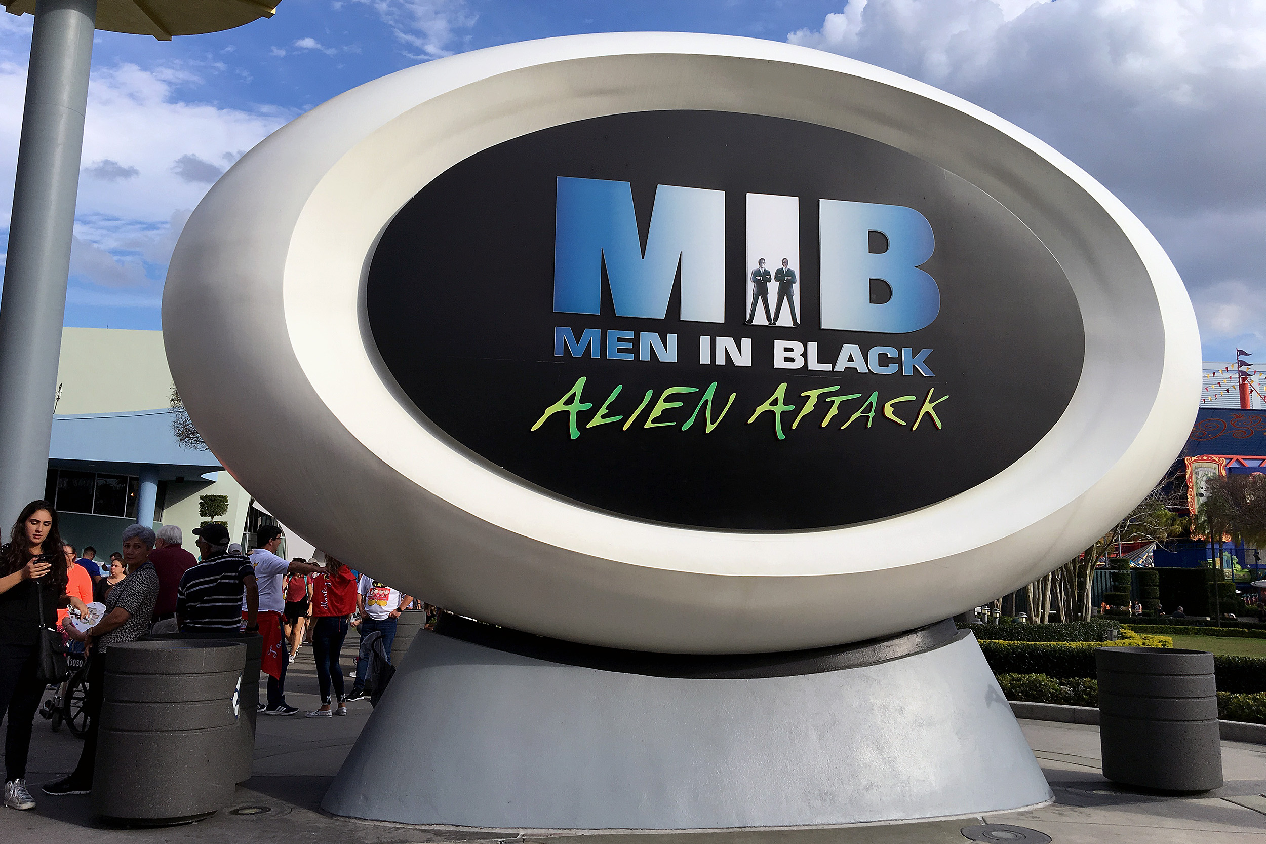 MEN IN BLACK Alien Attack Universal studios Florida