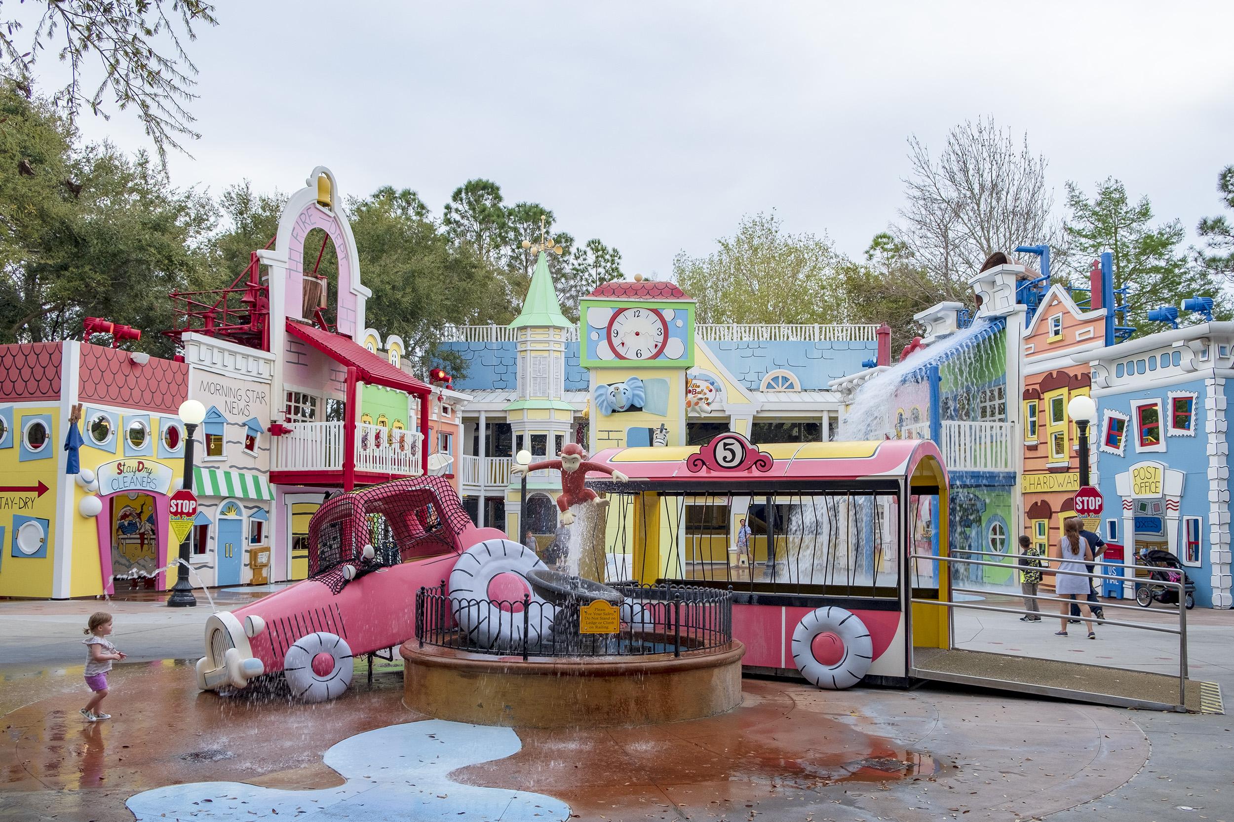 Nicke Nyfiken Universal Studios Orlando