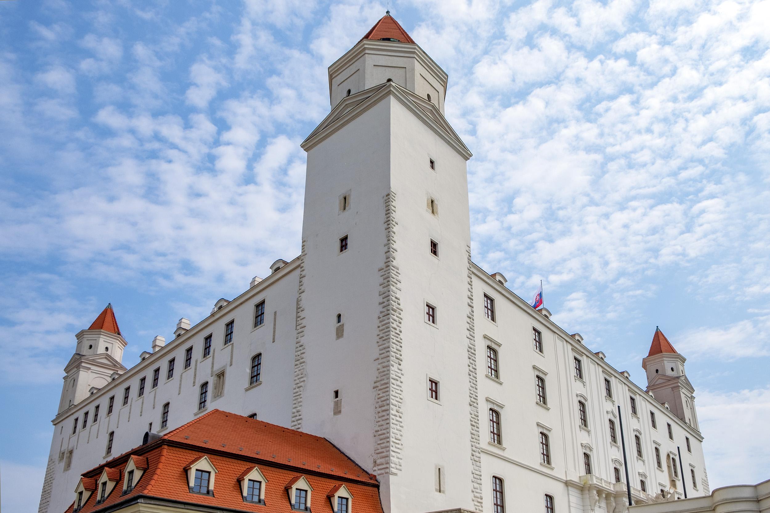 Crown Tower Slottet i Bratislava