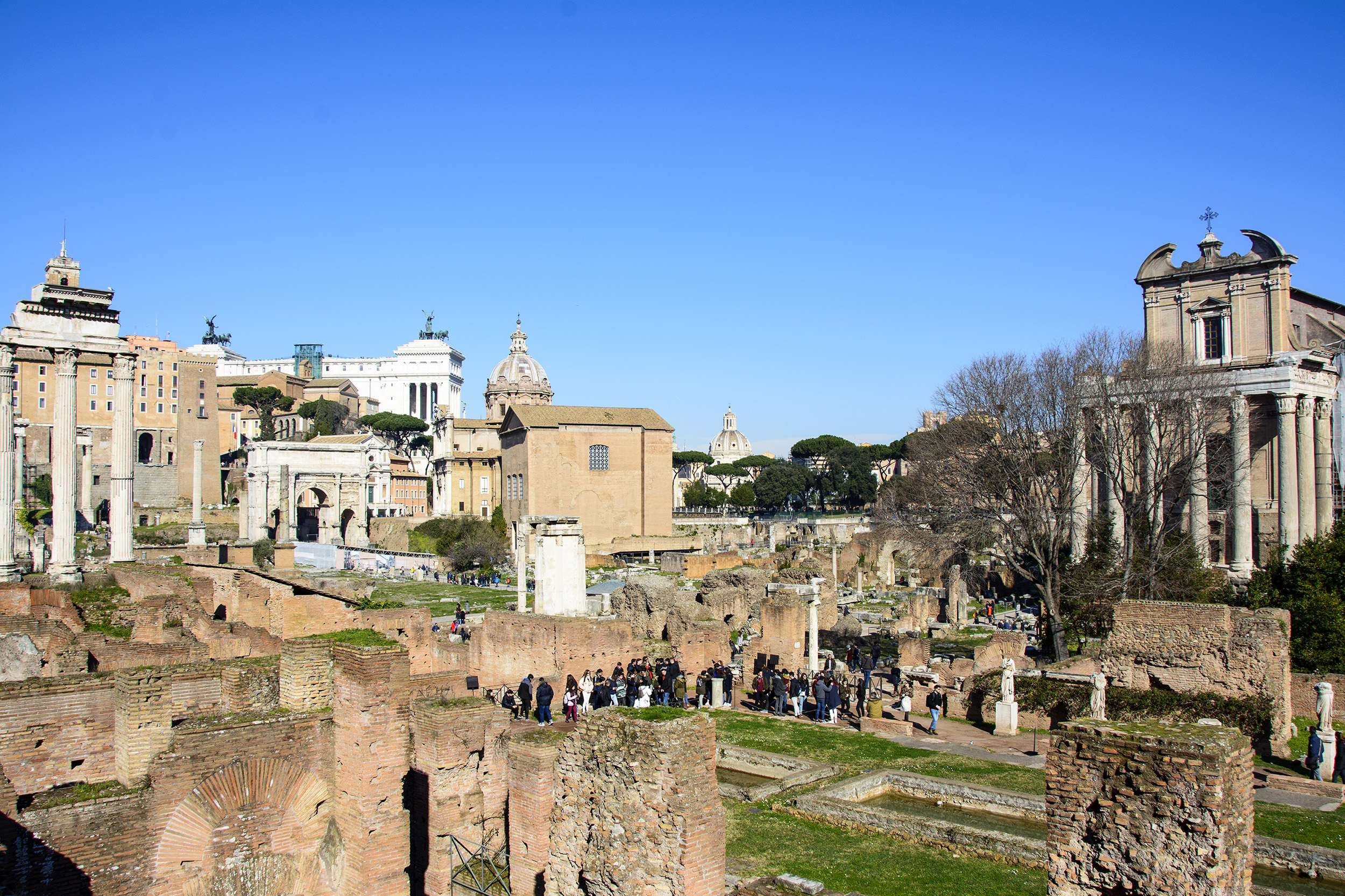 Weekend i Rom Forum Romanum
