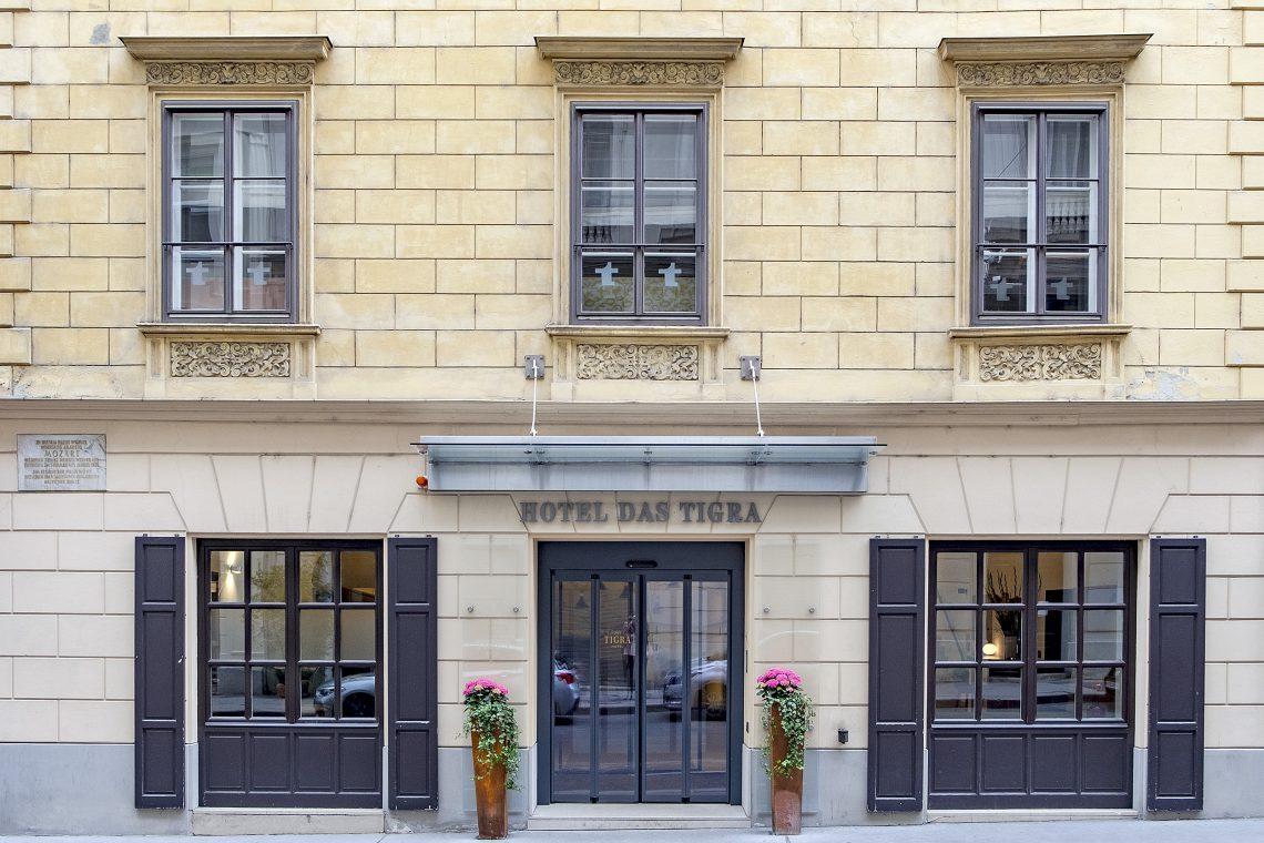 Hotel Das Tigra, Wien, Exteriör