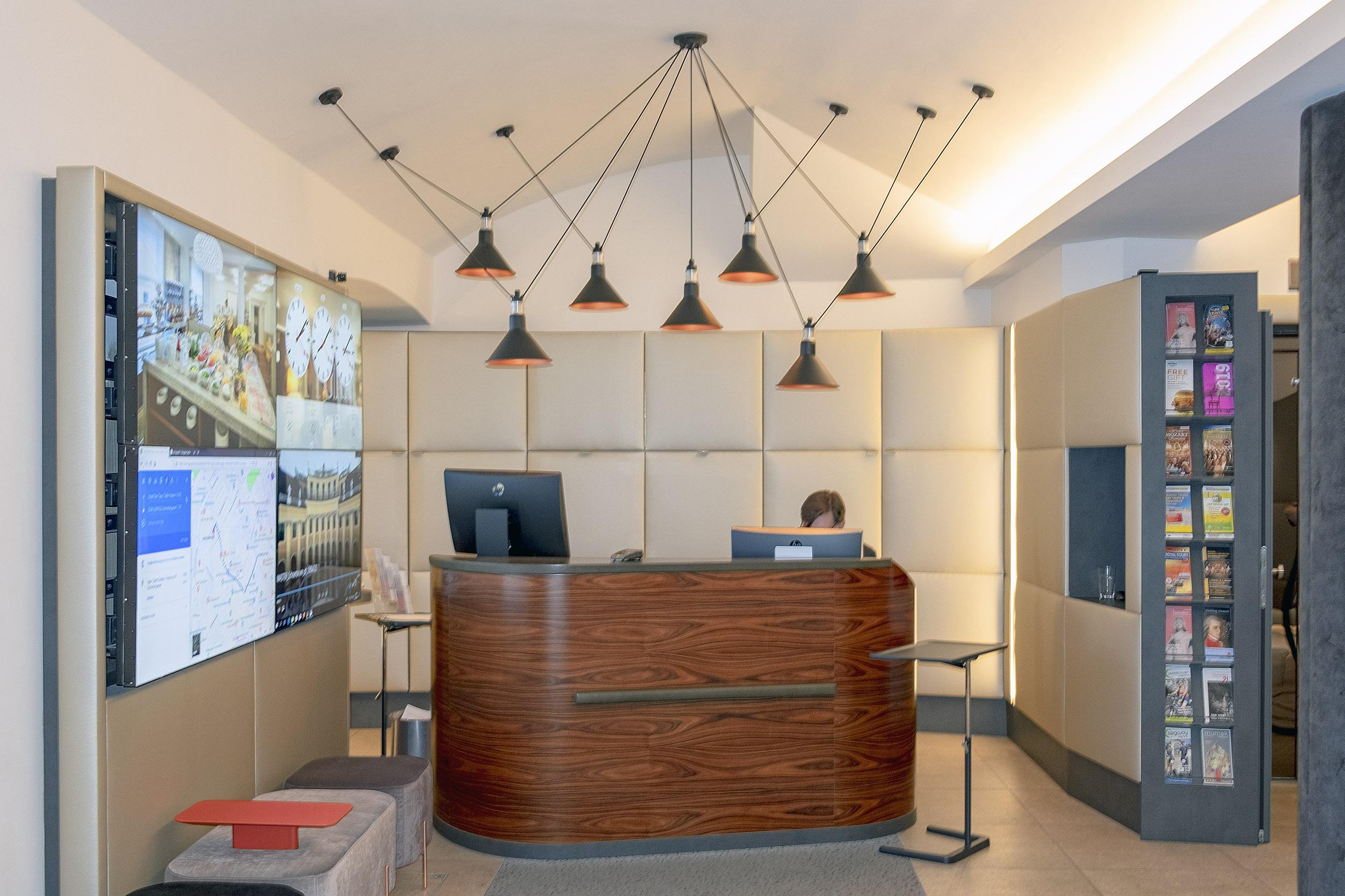 Hotel Das Tigra Wien Reception