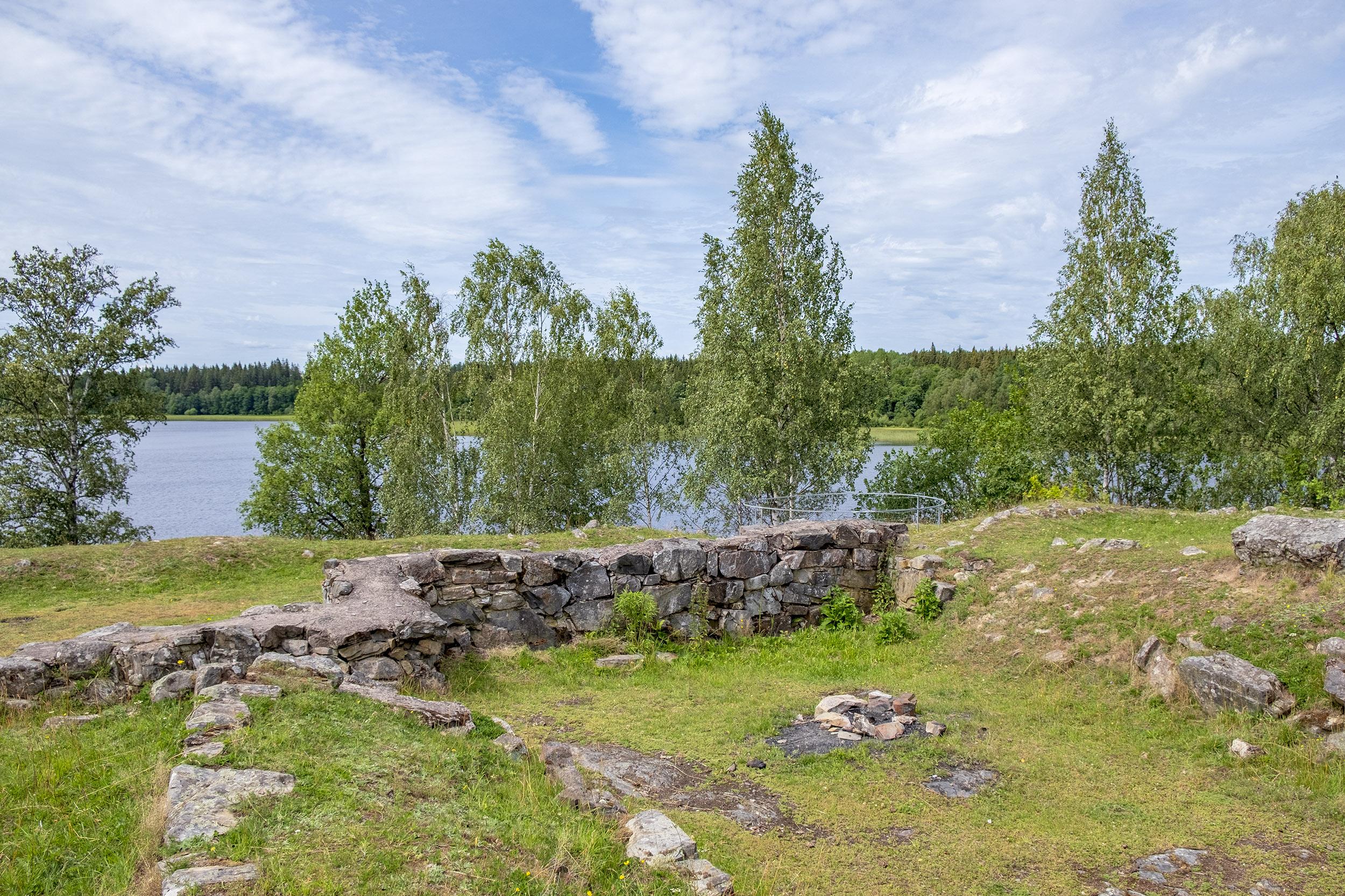 Hultaby Slottsruin Vetlanda