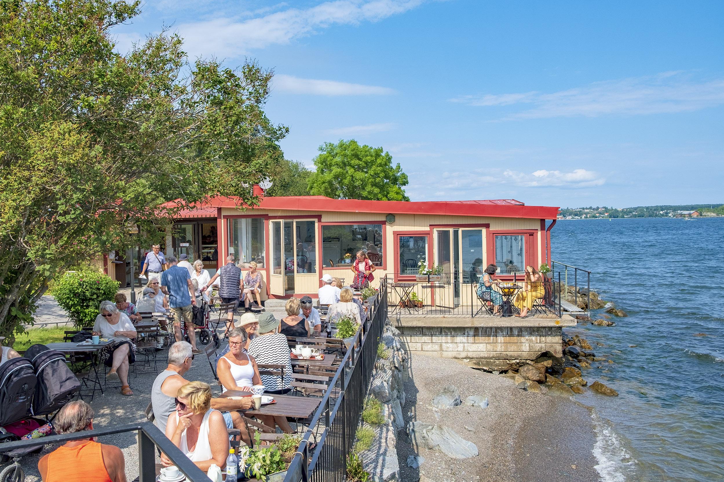 Cafe Blockhusporten Djurgården sommarcaféer