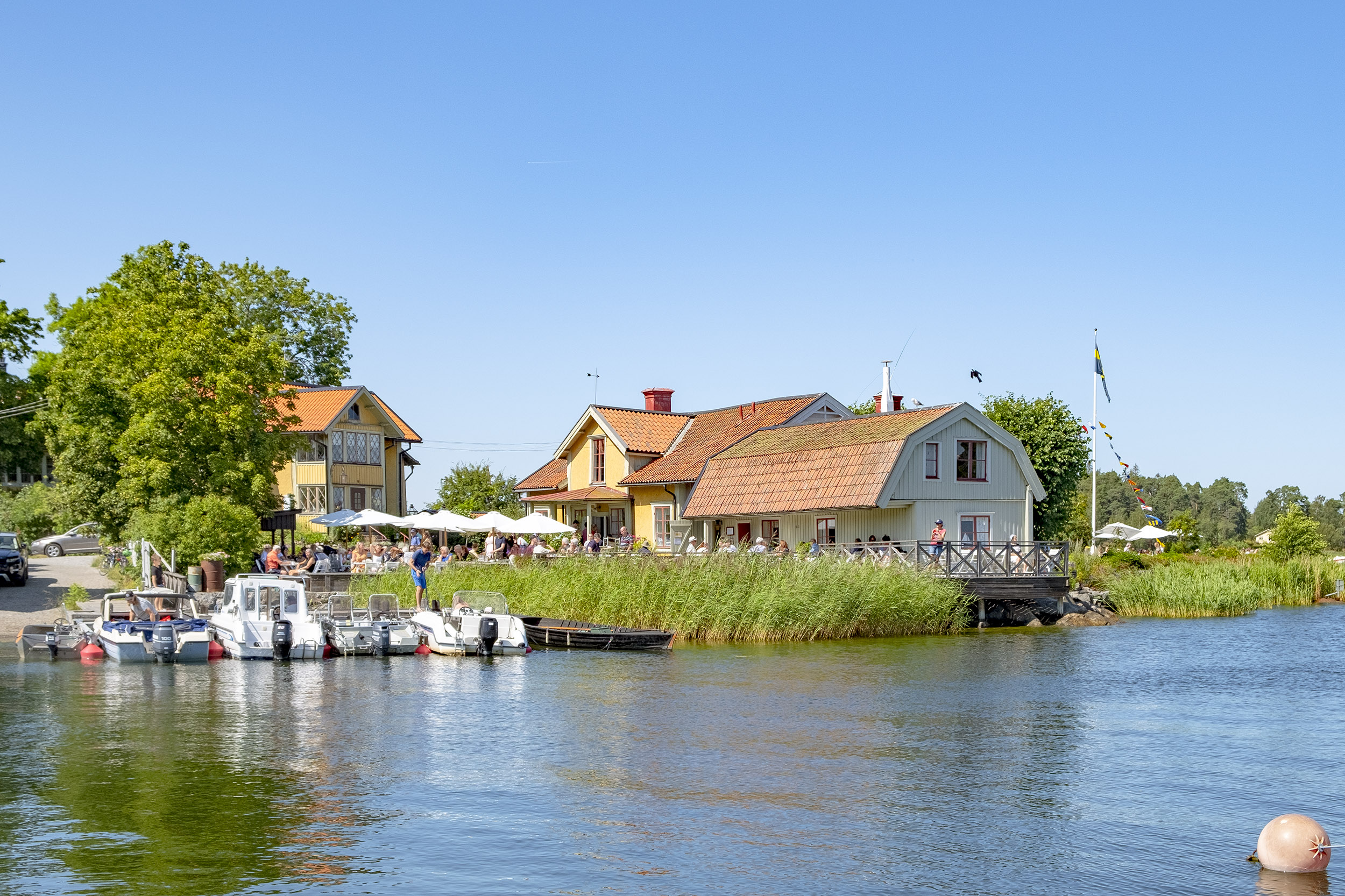 Vaxholms hembygdsgård.