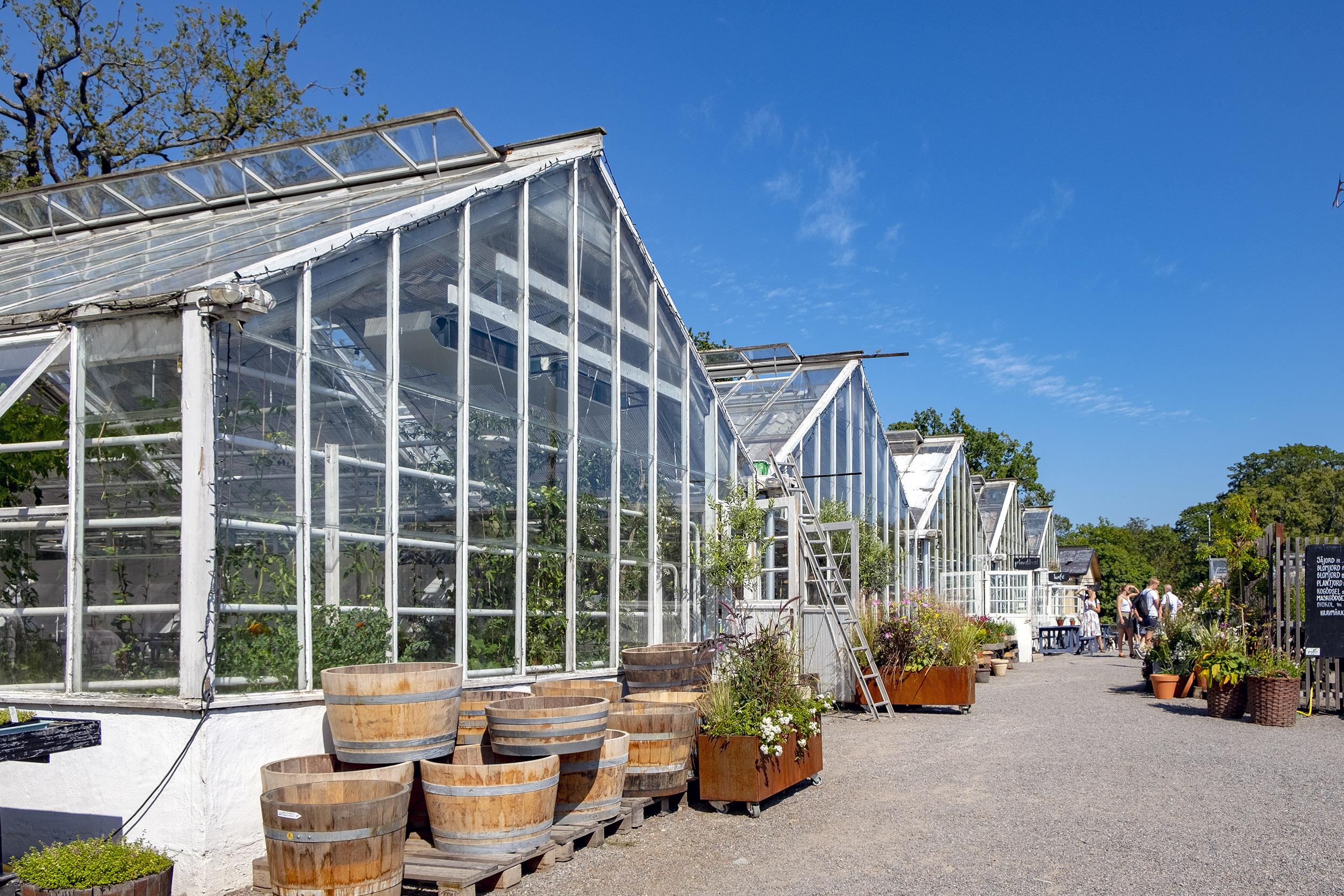 Rosendals trädgård sommarcaféer
