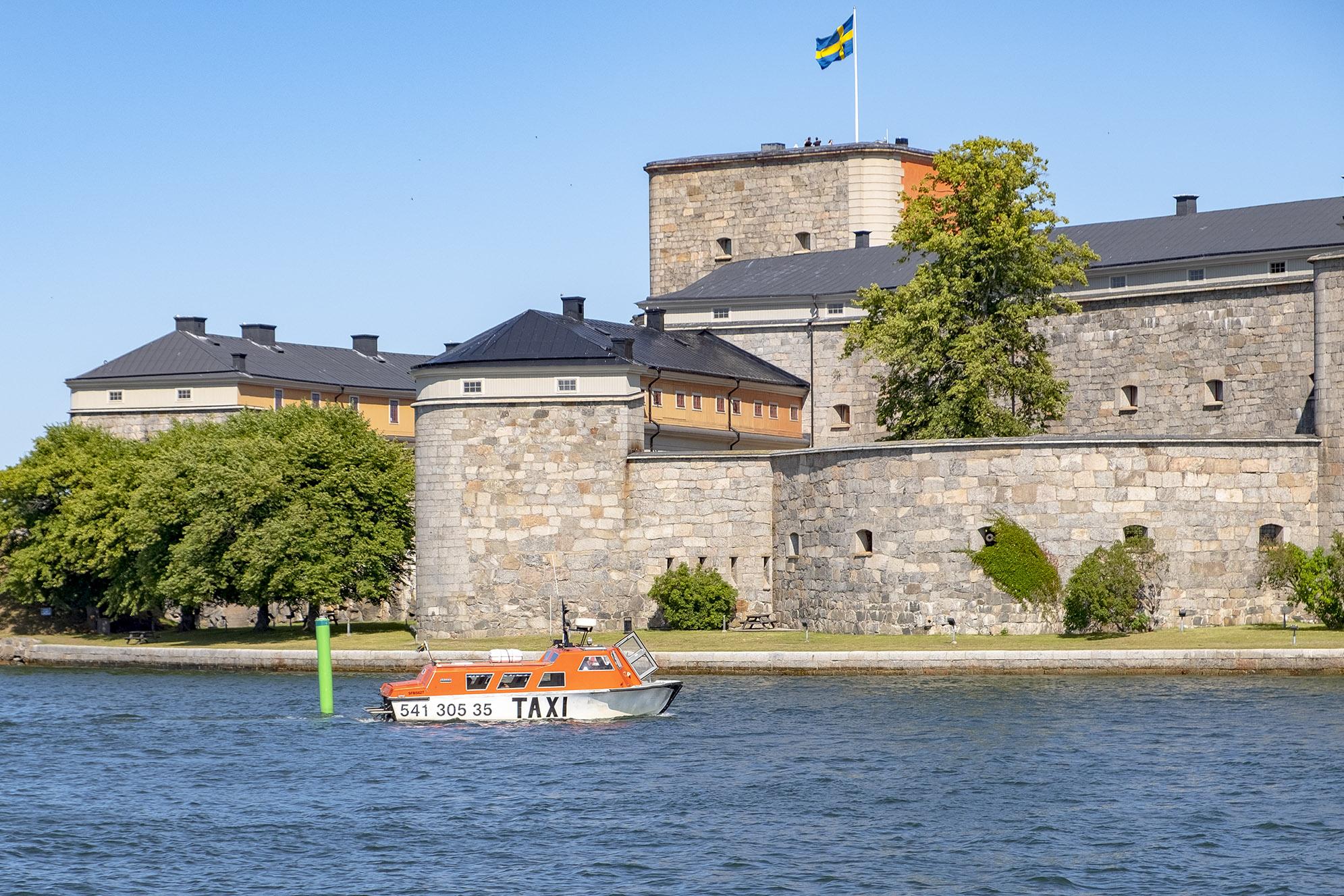 Taxibåt Vaxholms kastell