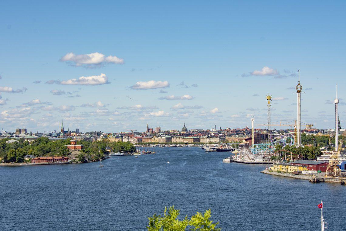 Utsikt från Fåfängan Stockholm Sommarcaféer