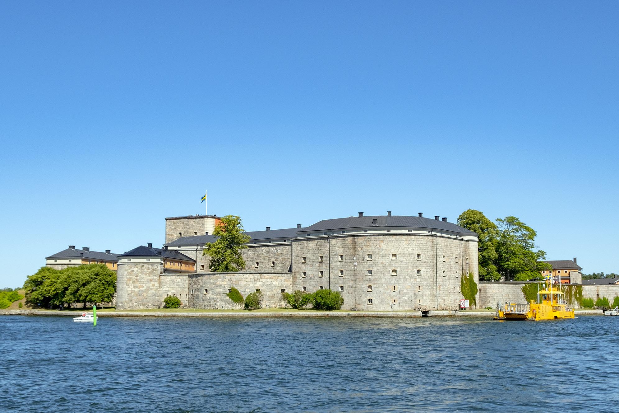Vaxholms fästning kastellet