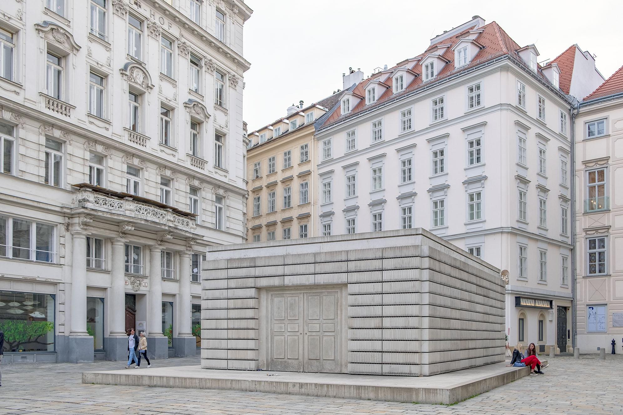 Judenplatz Holocaust Memorial Vienna
