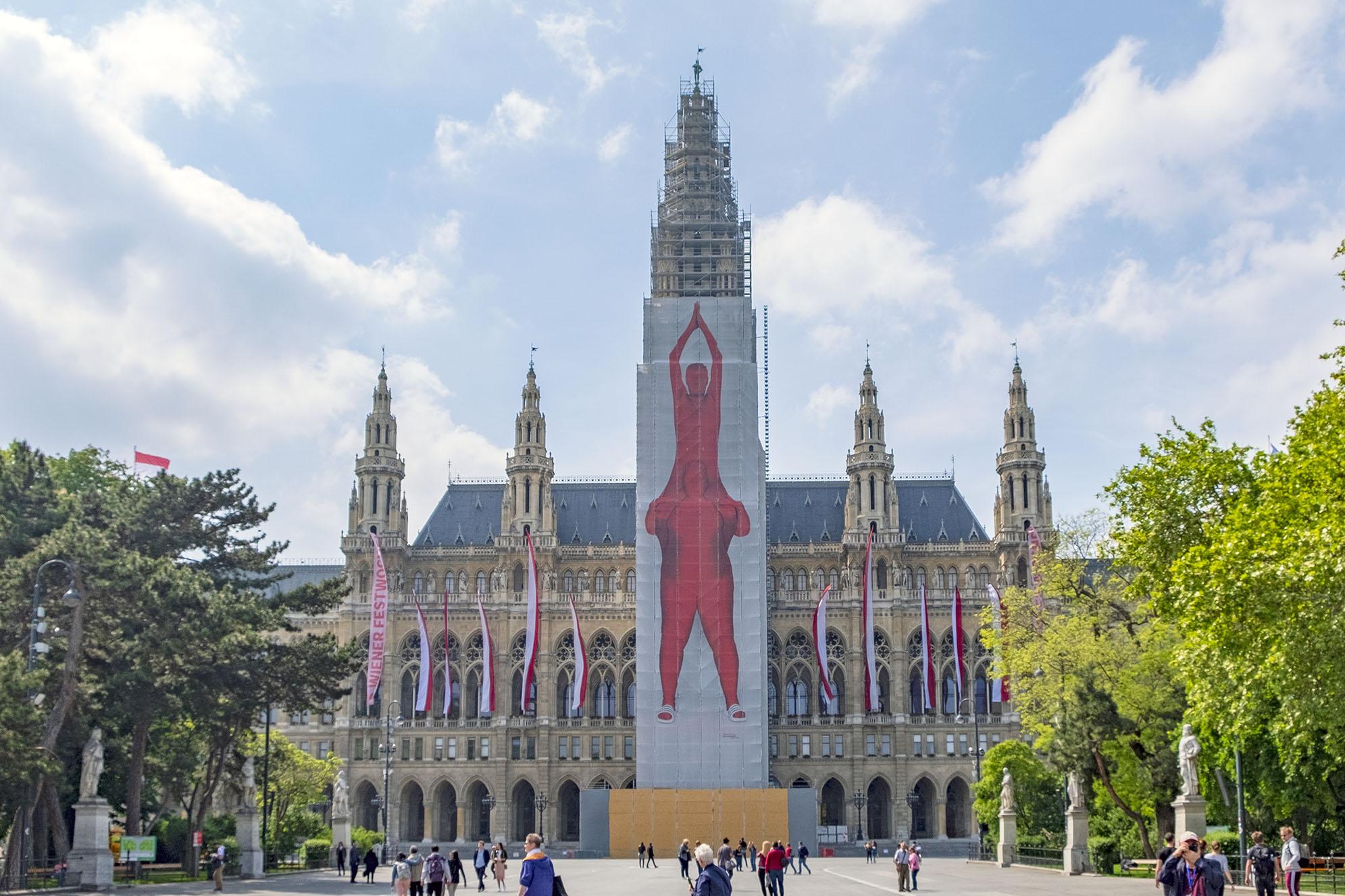 Wien Rathaus Vienna Rådhus