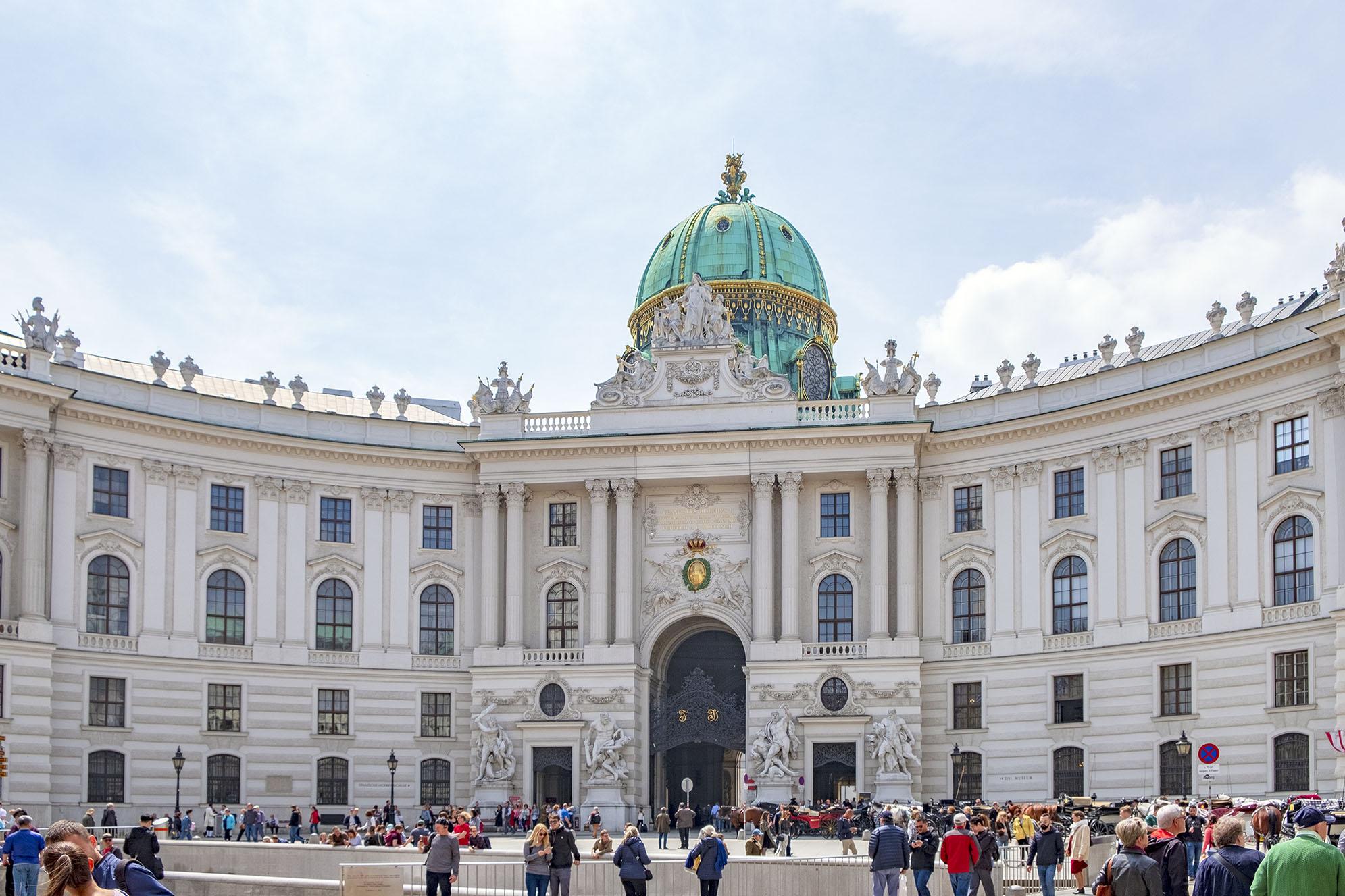 Hofburg Wien Vienna Österrike