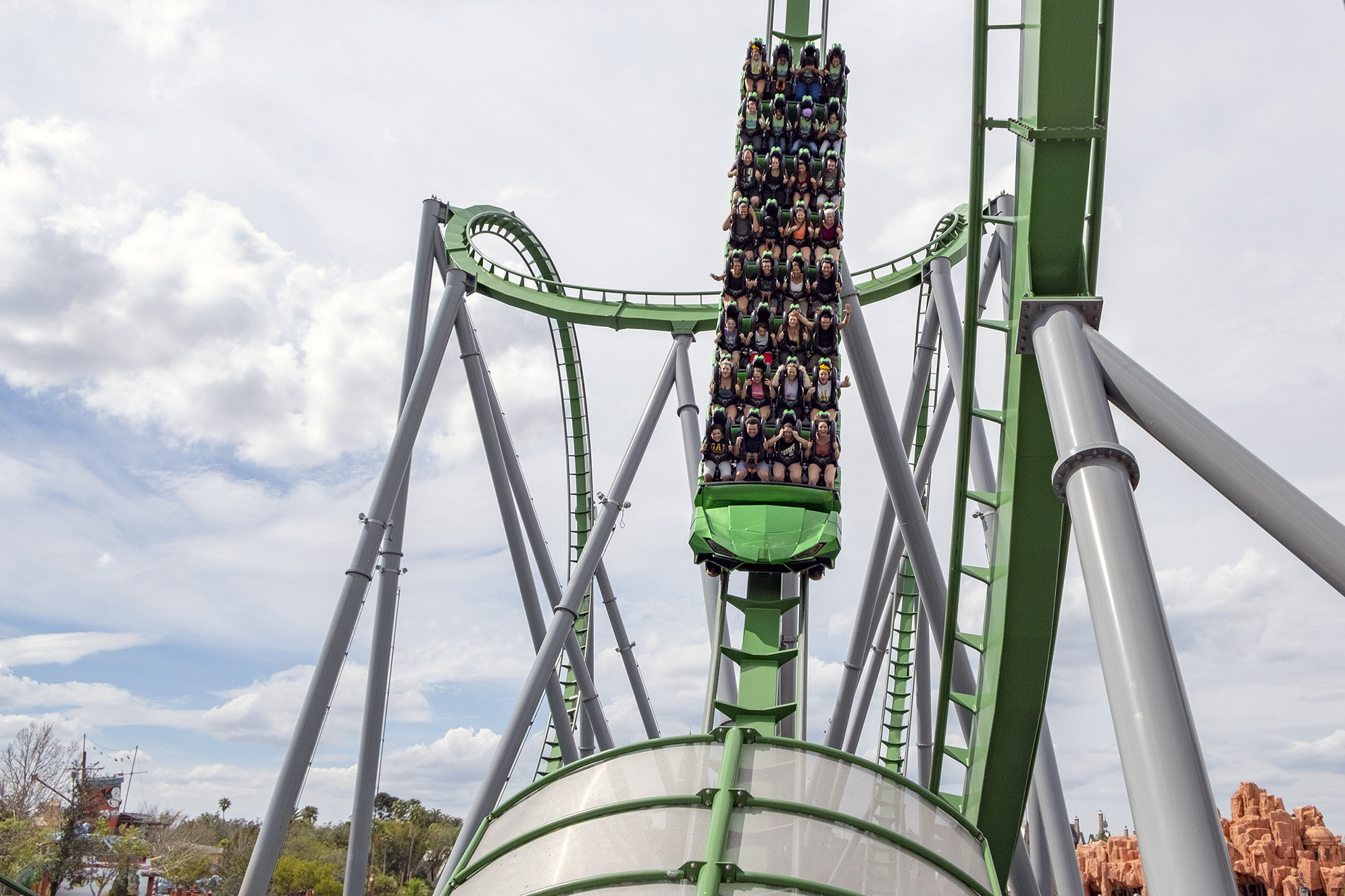 Hulk Coaster Islands of Adventure