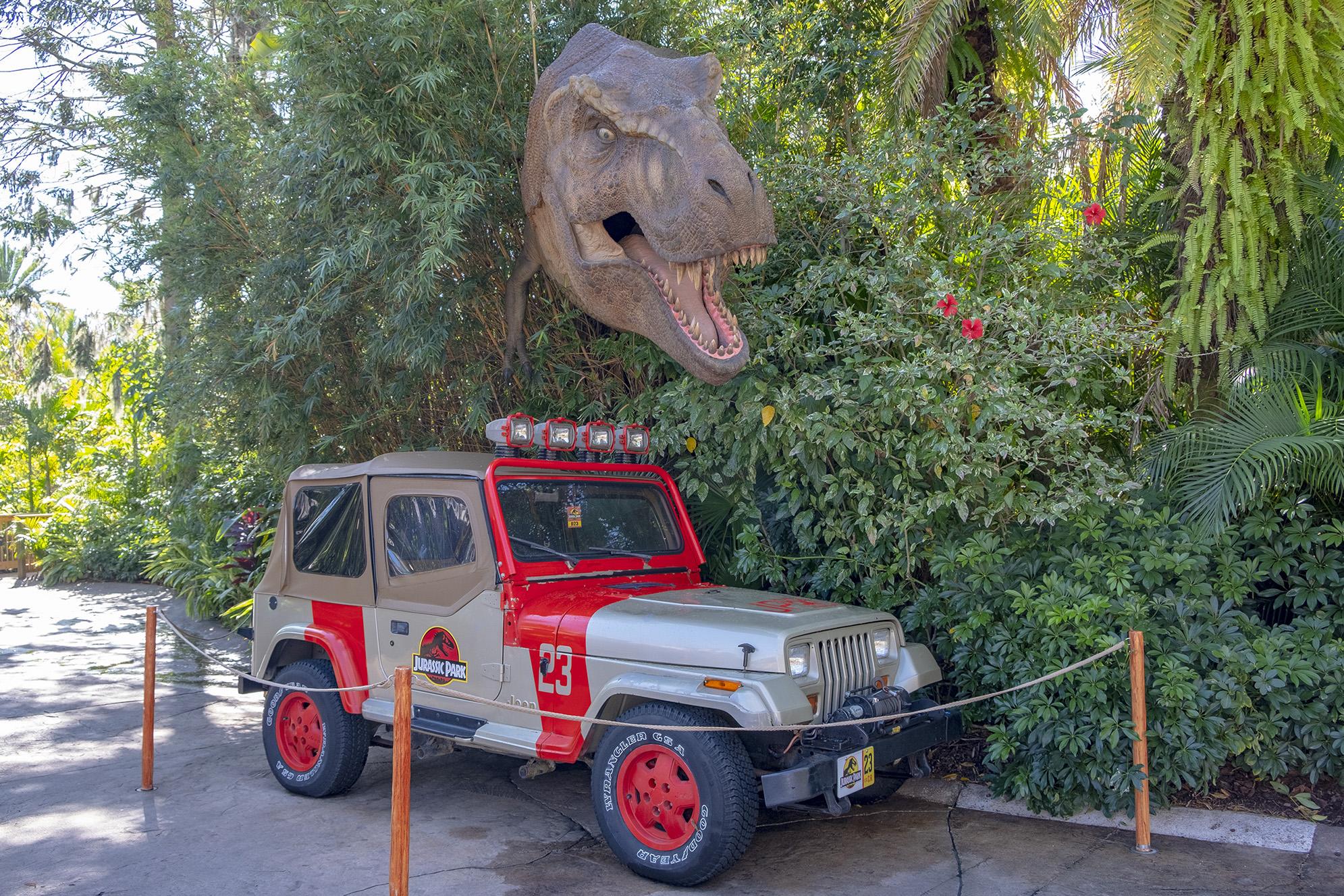 Jurassic Park Islands of Adventure