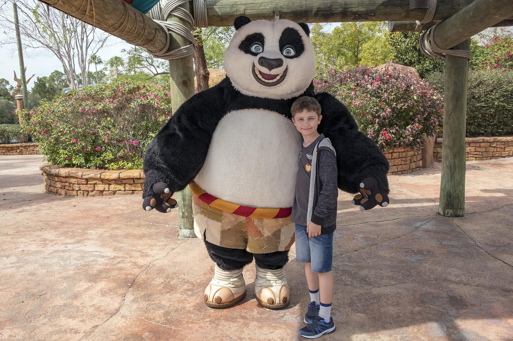 Po från Kung Fu Panda-filmerna.