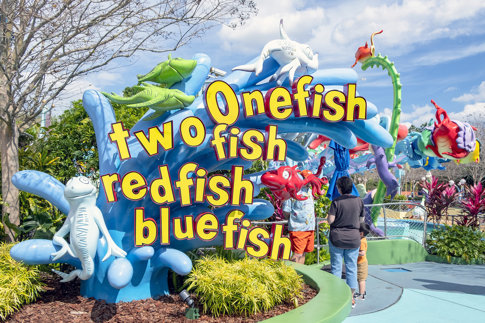 One fish two fish islands of adventure