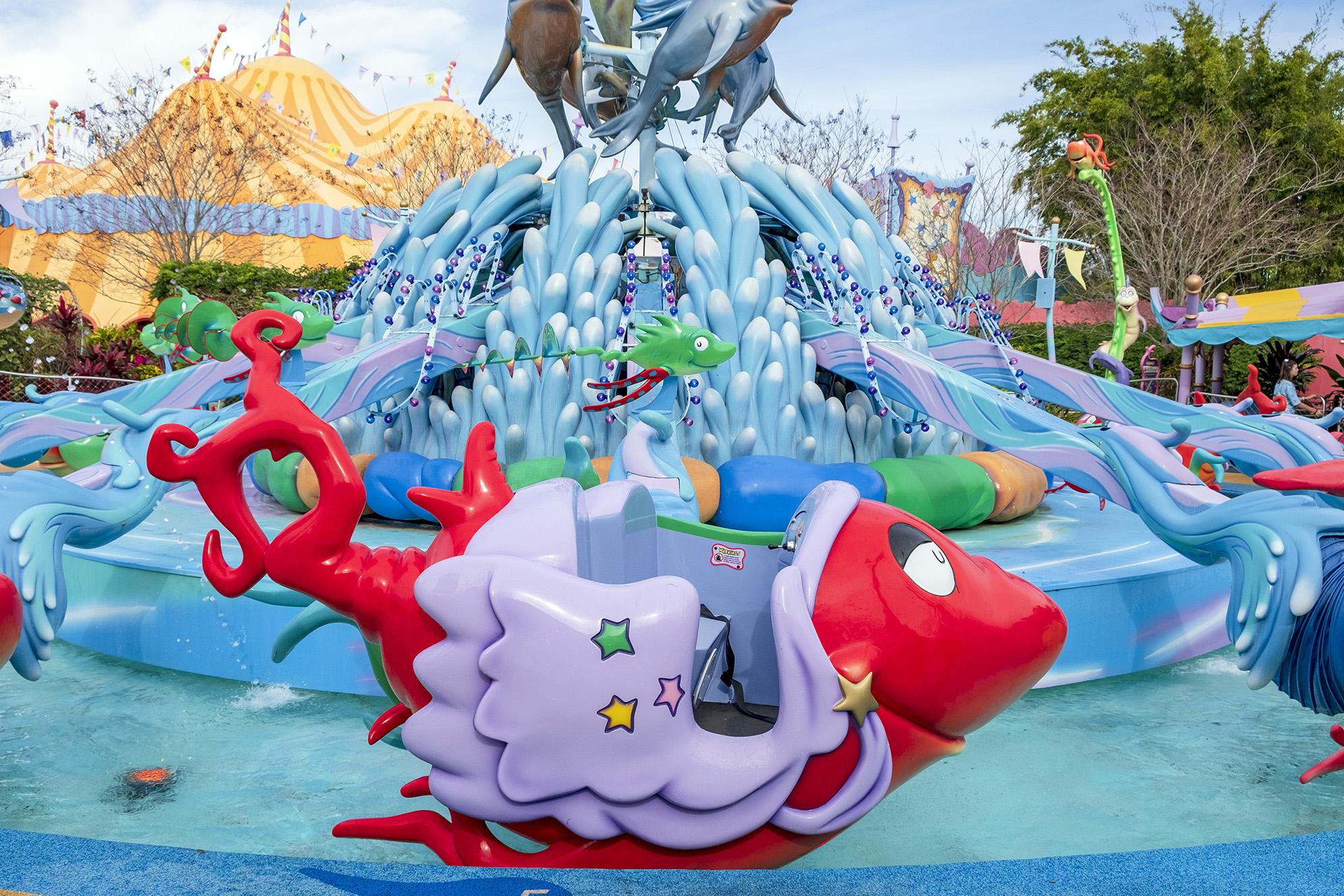 Seuss Landing Islands of Adventure