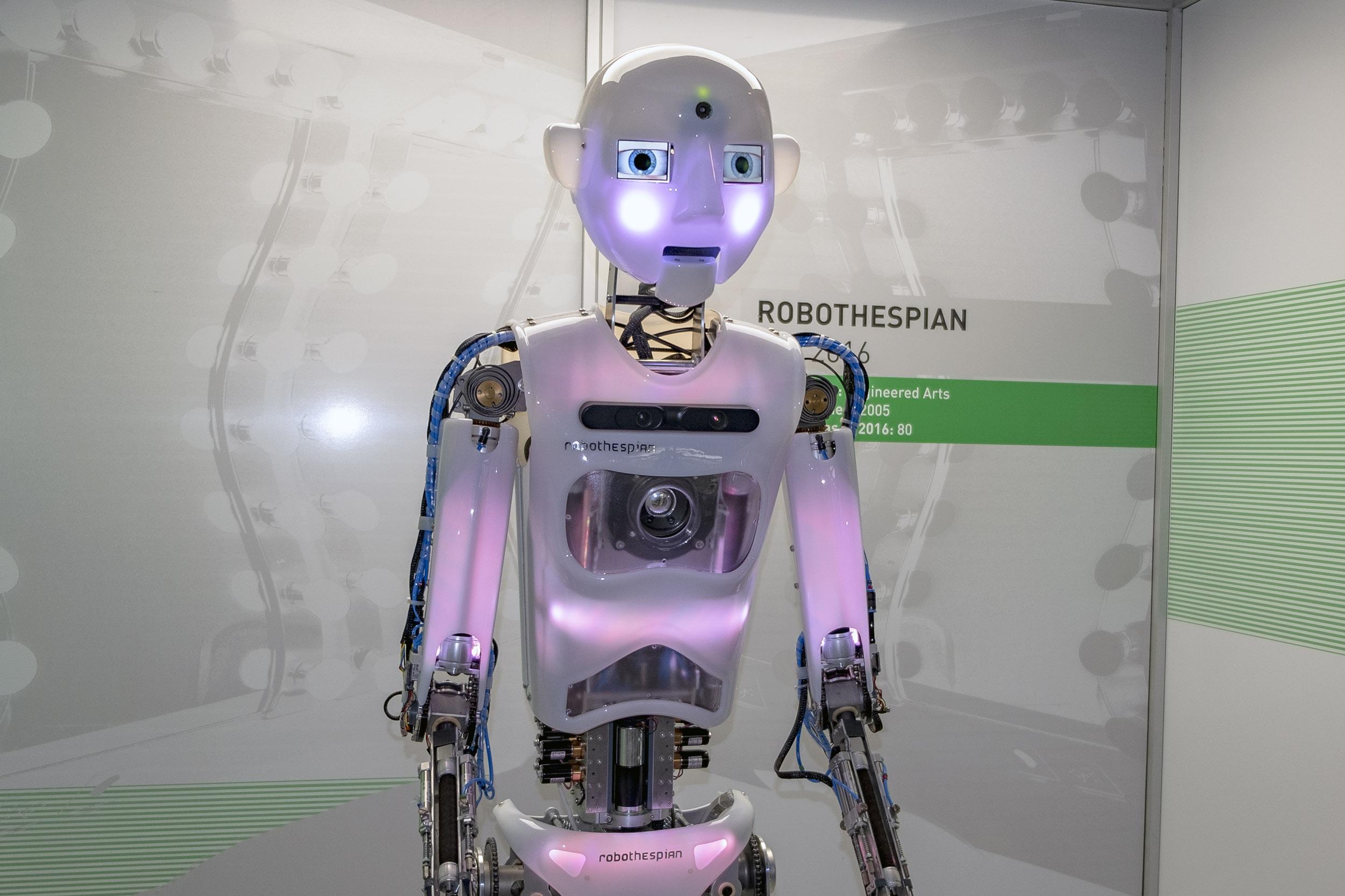robothespian Tekniska museet