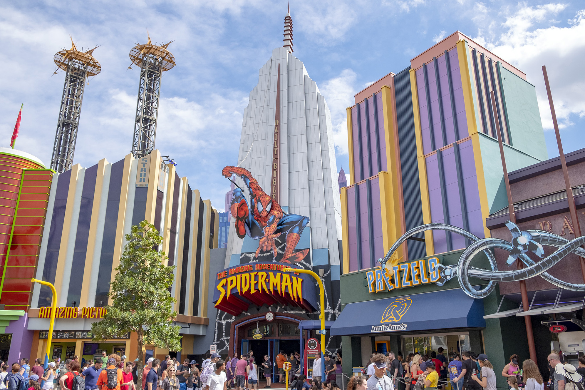 The Amazing Adventures of Spiderman på Islands of Adventure