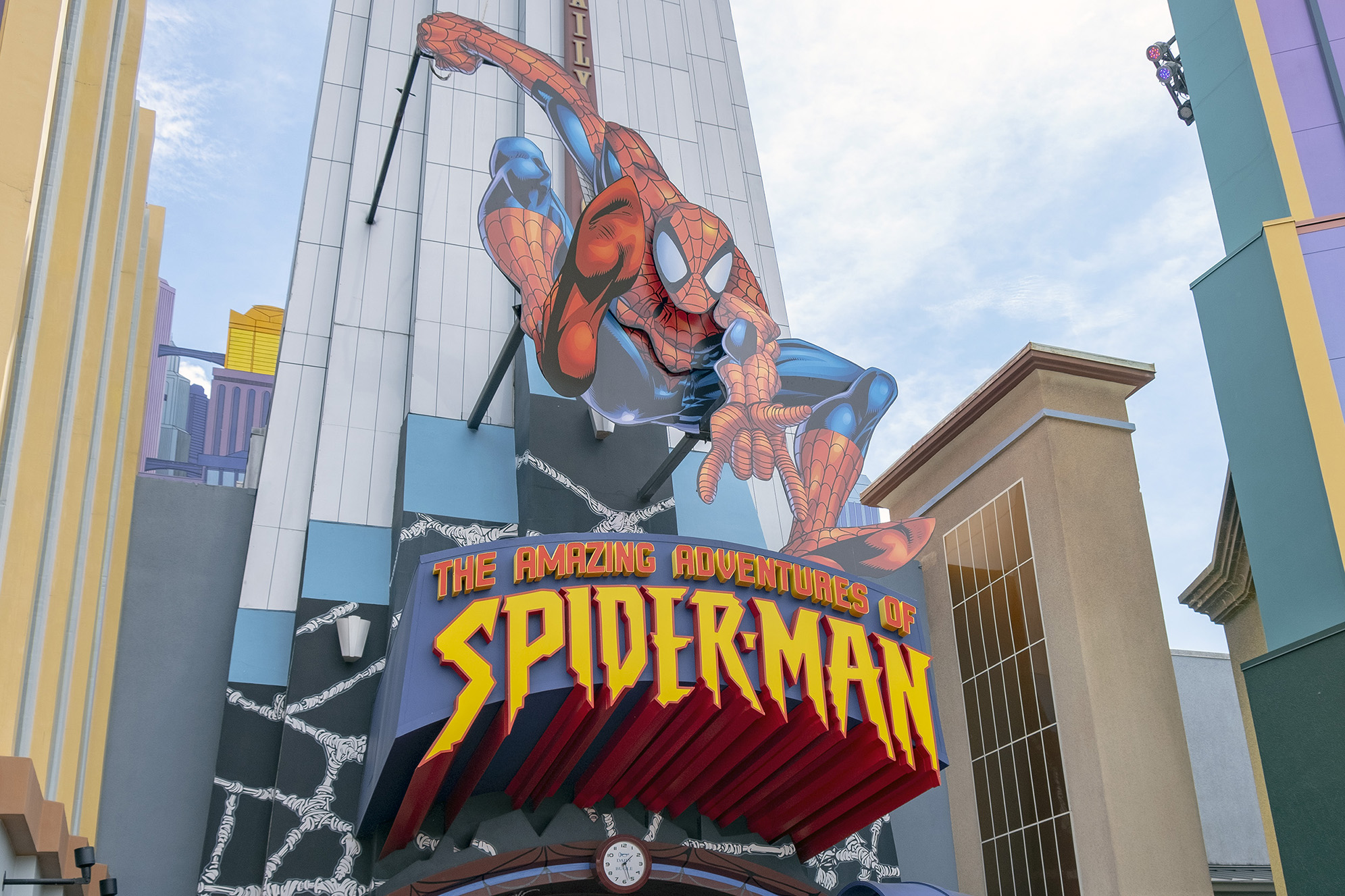 The Amazing Adventures of Spiderman på Islands of Adventure