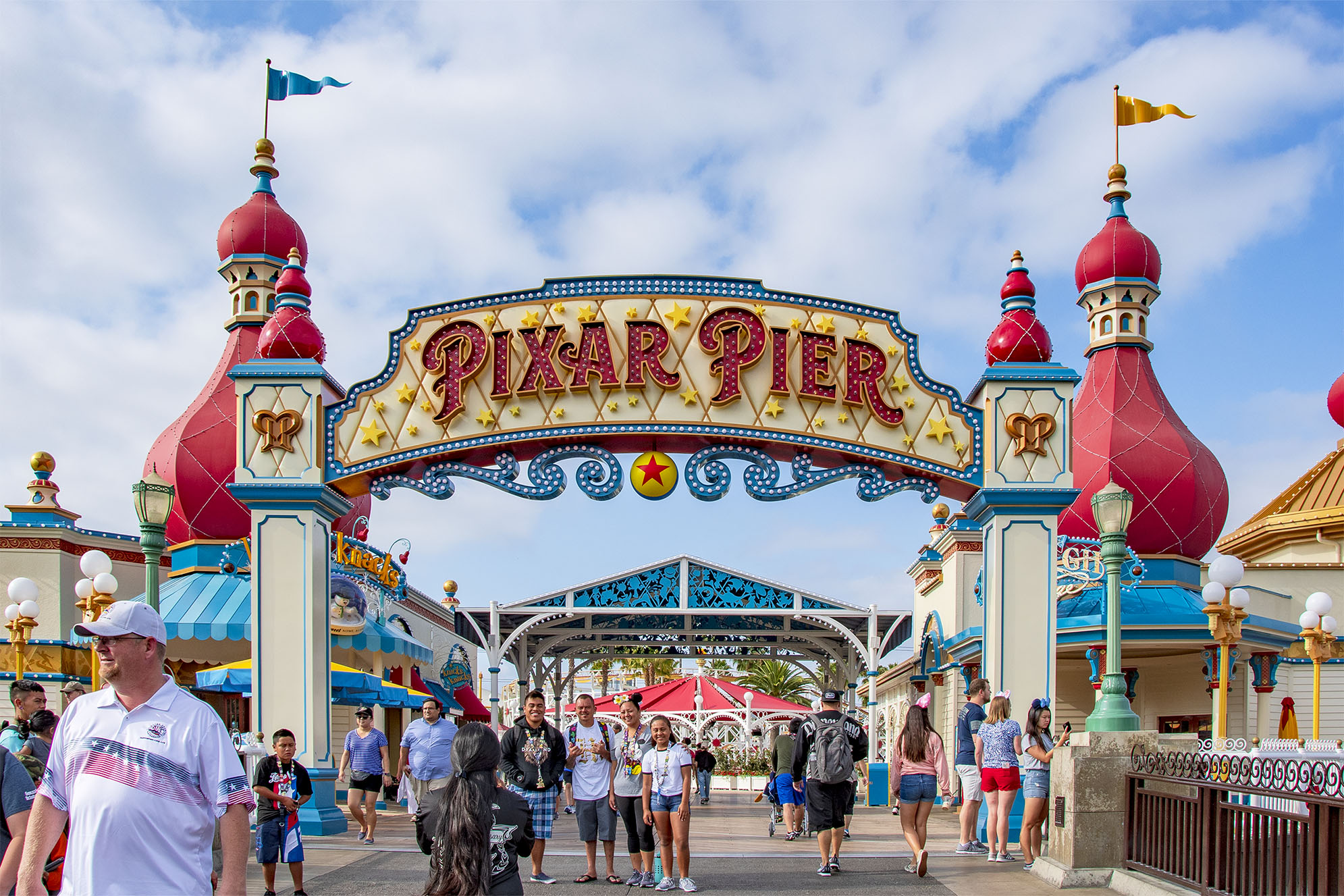 Pixar Pier Disney California Adventure Park