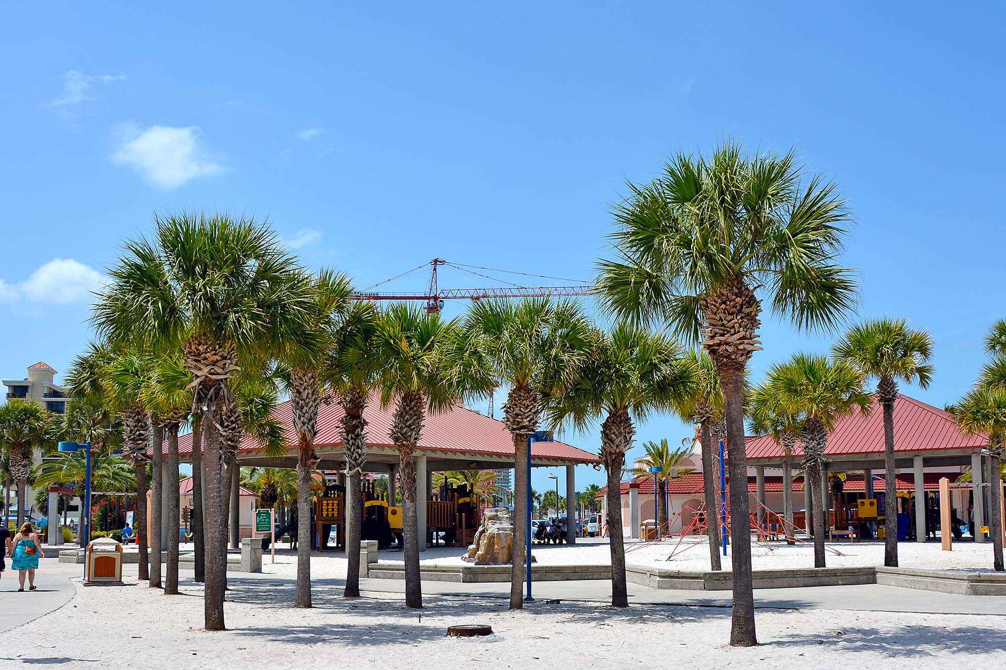 Clearwater beach lekplats