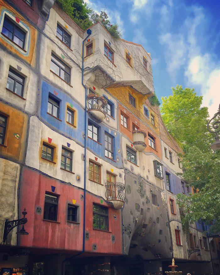 Hundertwasser House Wien Instagram 2019