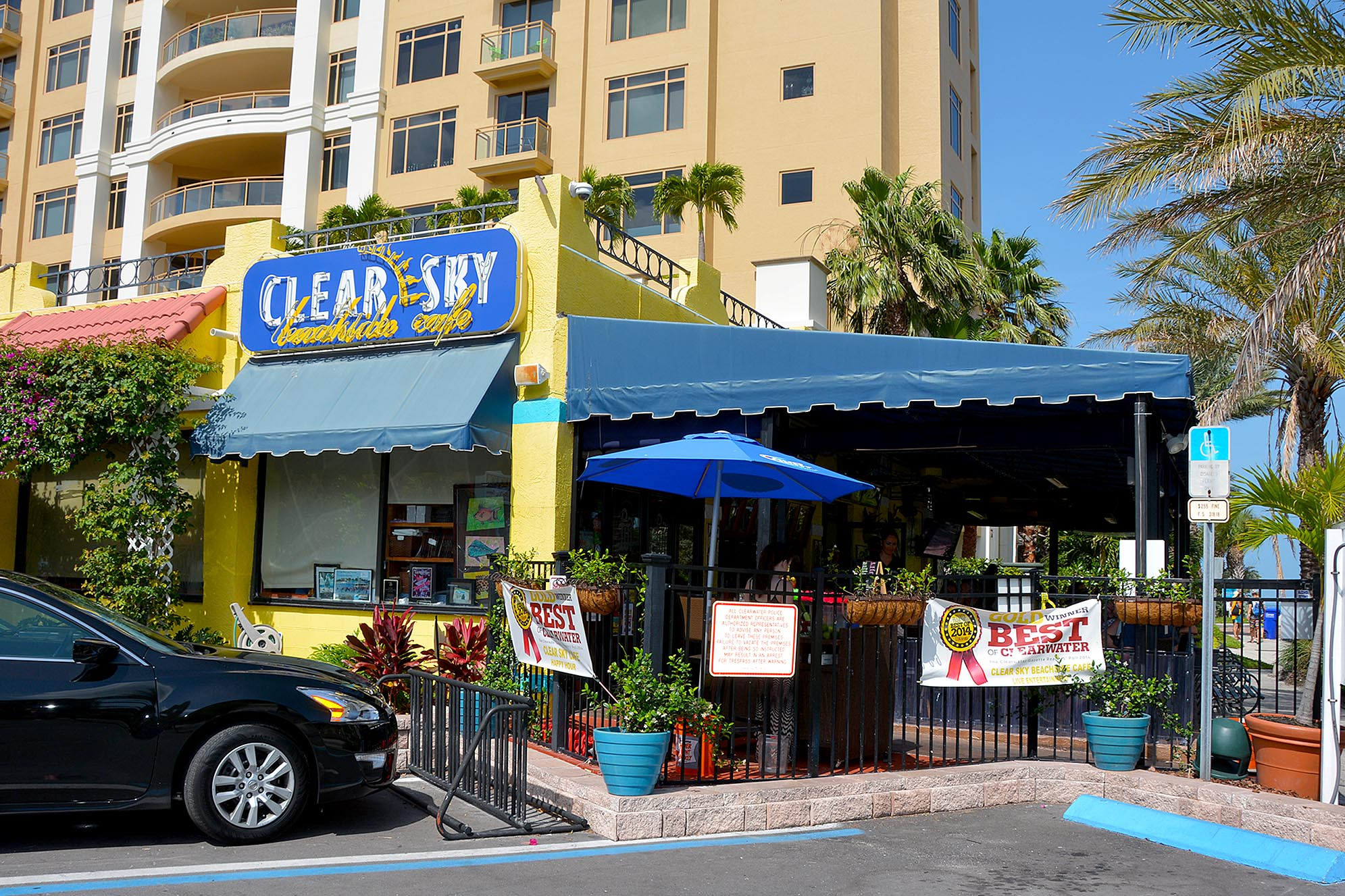 Clear Sky Beachside Cafe Clearwater Floridda