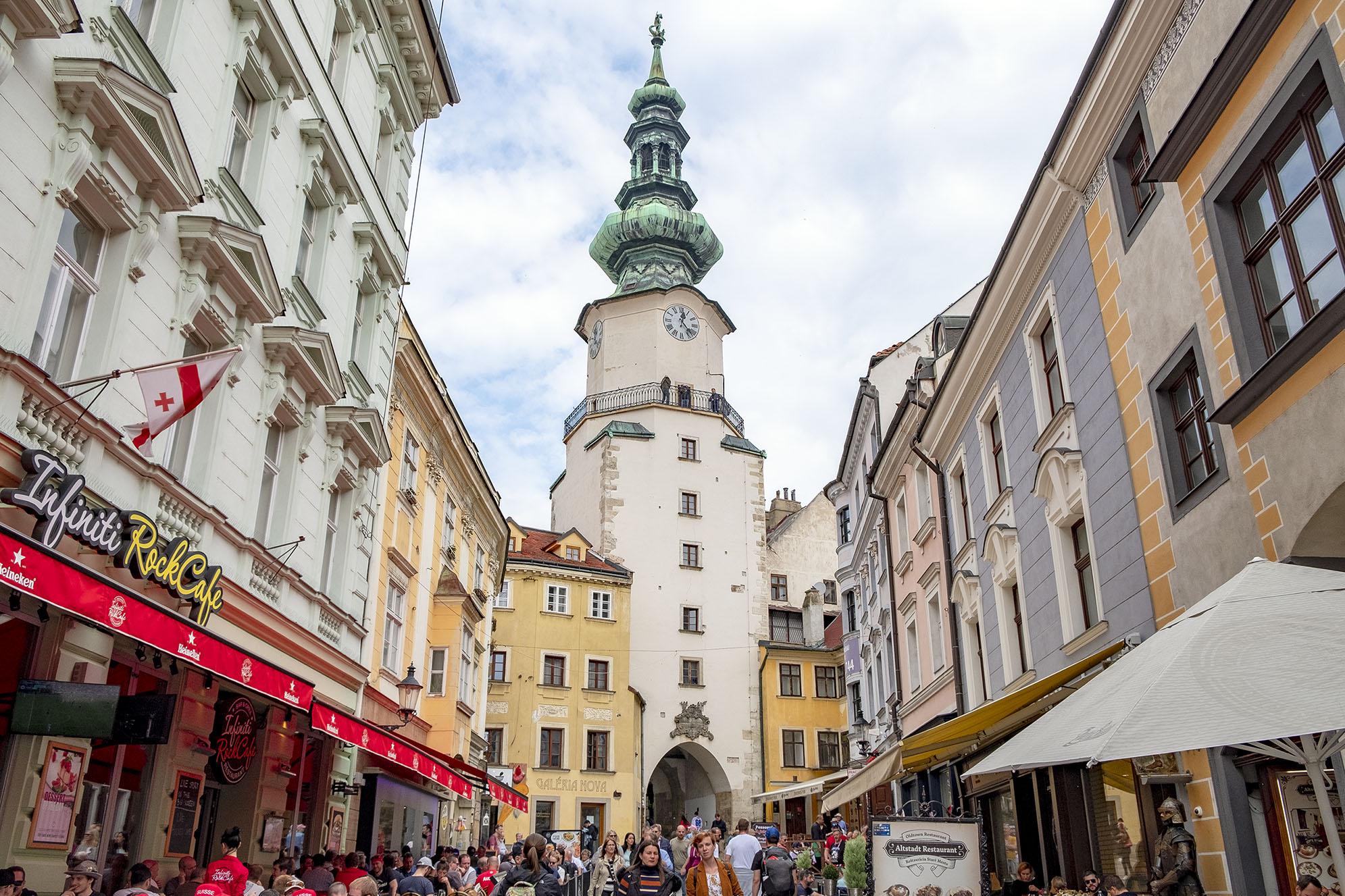 michaels gate Bratislava Tillbakablick på 2019