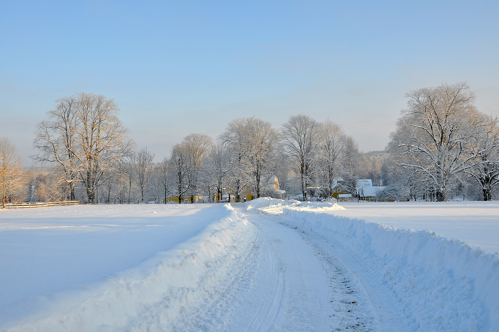 Vetlanda snö Gettinge
