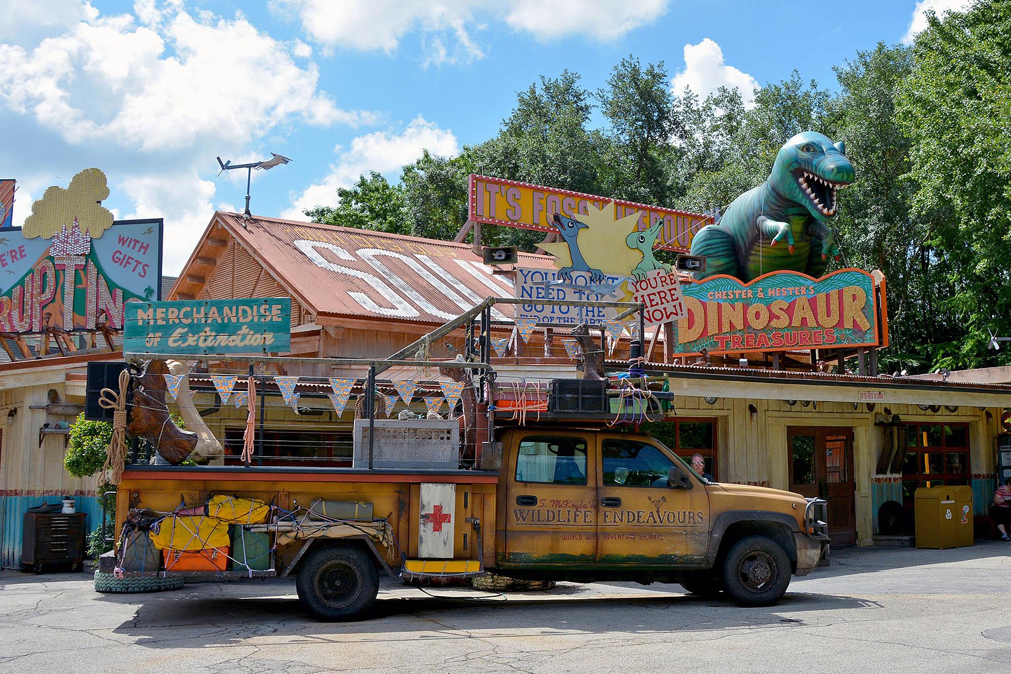 DinoLand U.S.A. på Disney's Animal Kingdom.