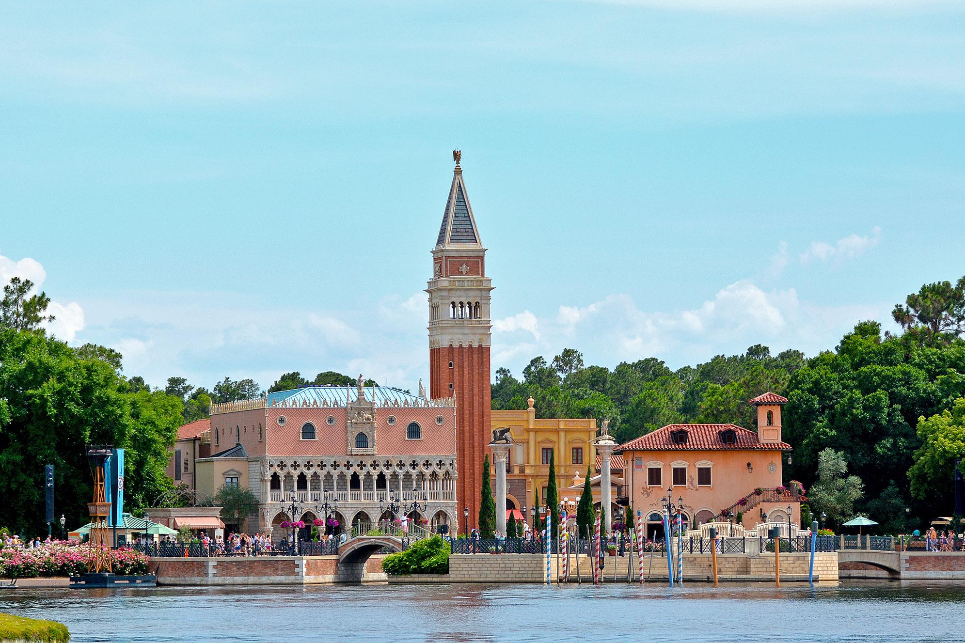 Italien Epcot Walt Disney World i Orlando