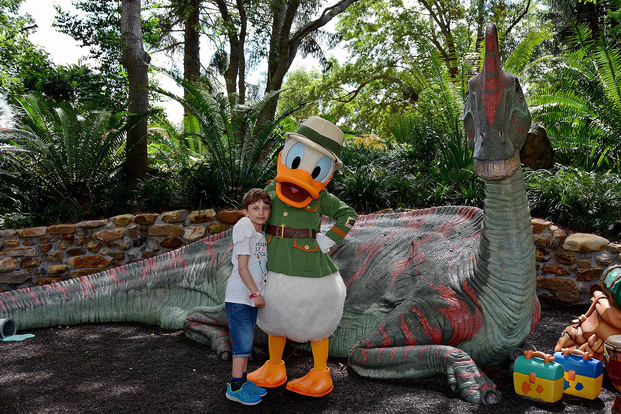Kalle Anka Disney's Animal Kingdom