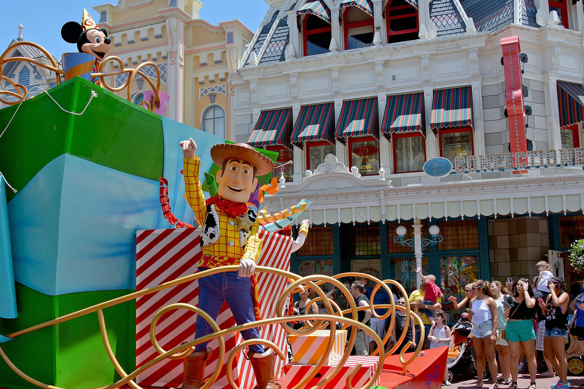 Woody parad Walt Disney World i Orlando
