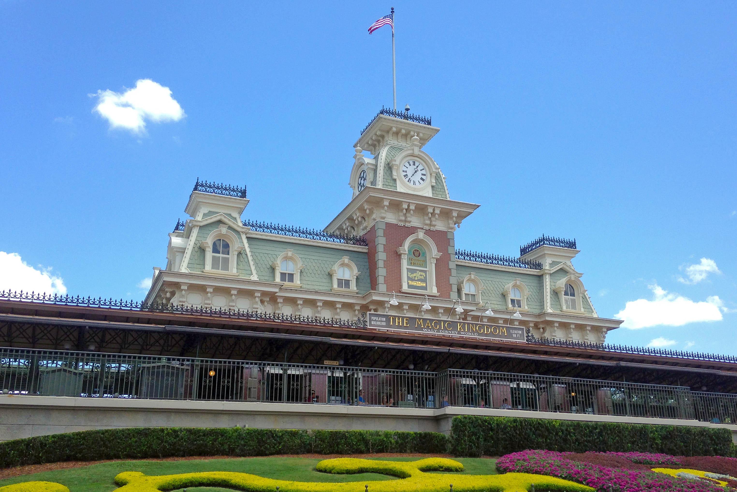 Disney Railroad Walt Disney World i Orlando