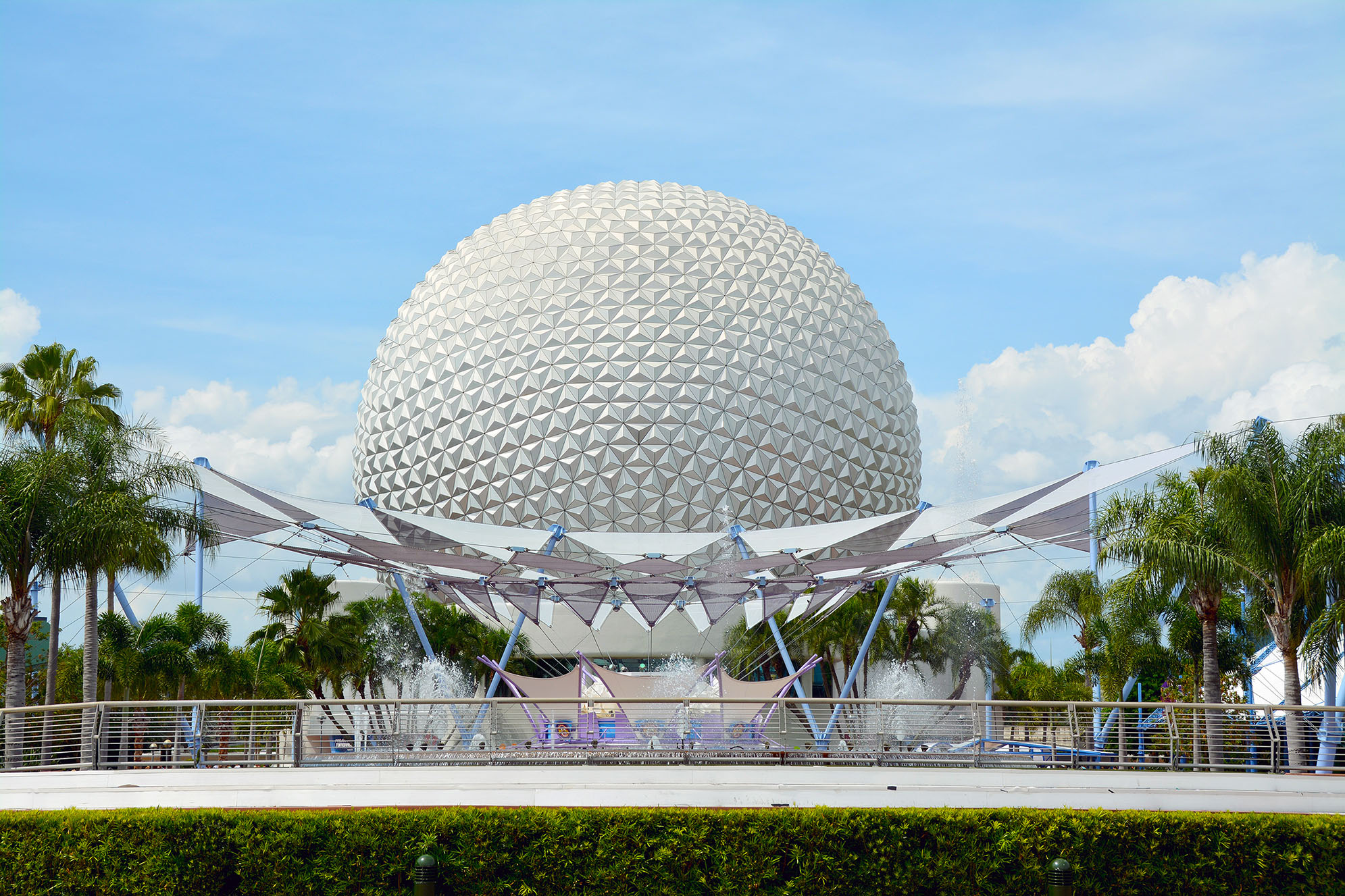 Spaceship Earth Epcot Walt Disney World i Orlando