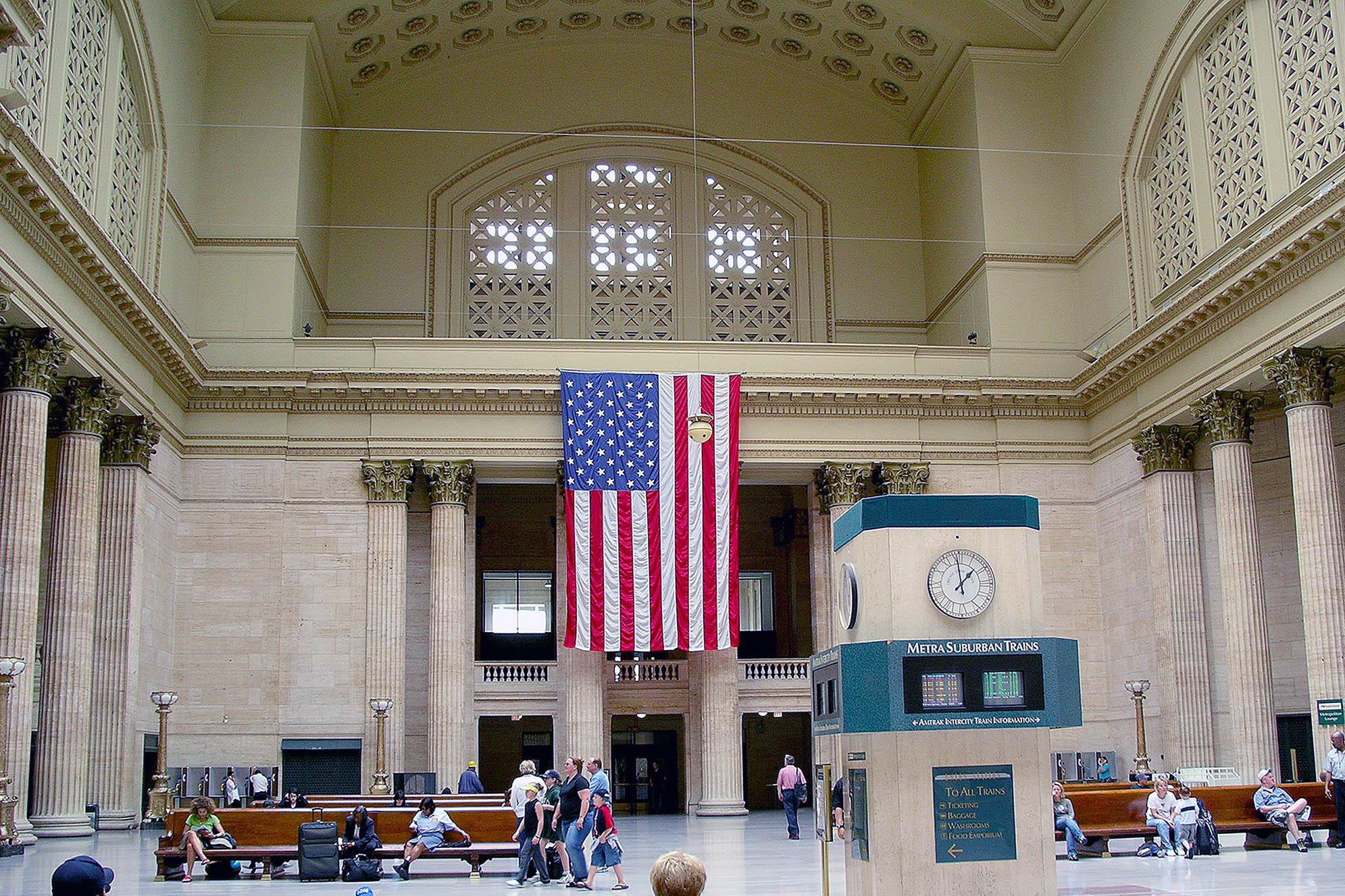 Union Station Chicago Amtrak tågresor