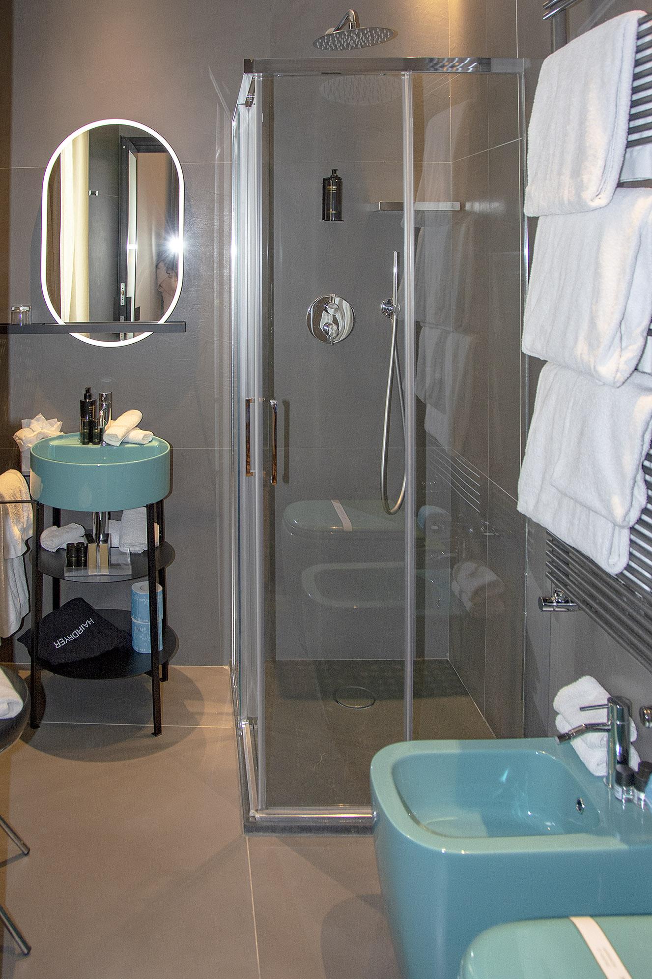 Badrum hotell Florens