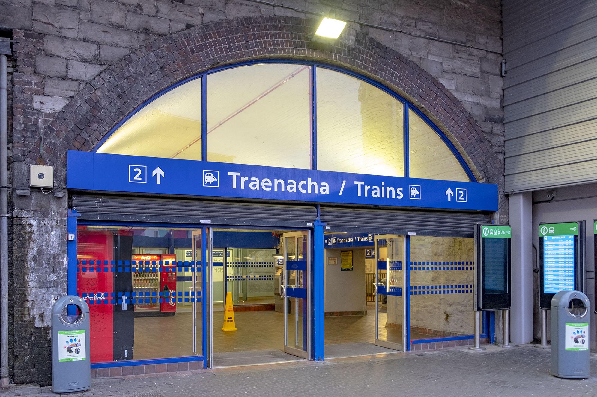 Tara street station Dublin