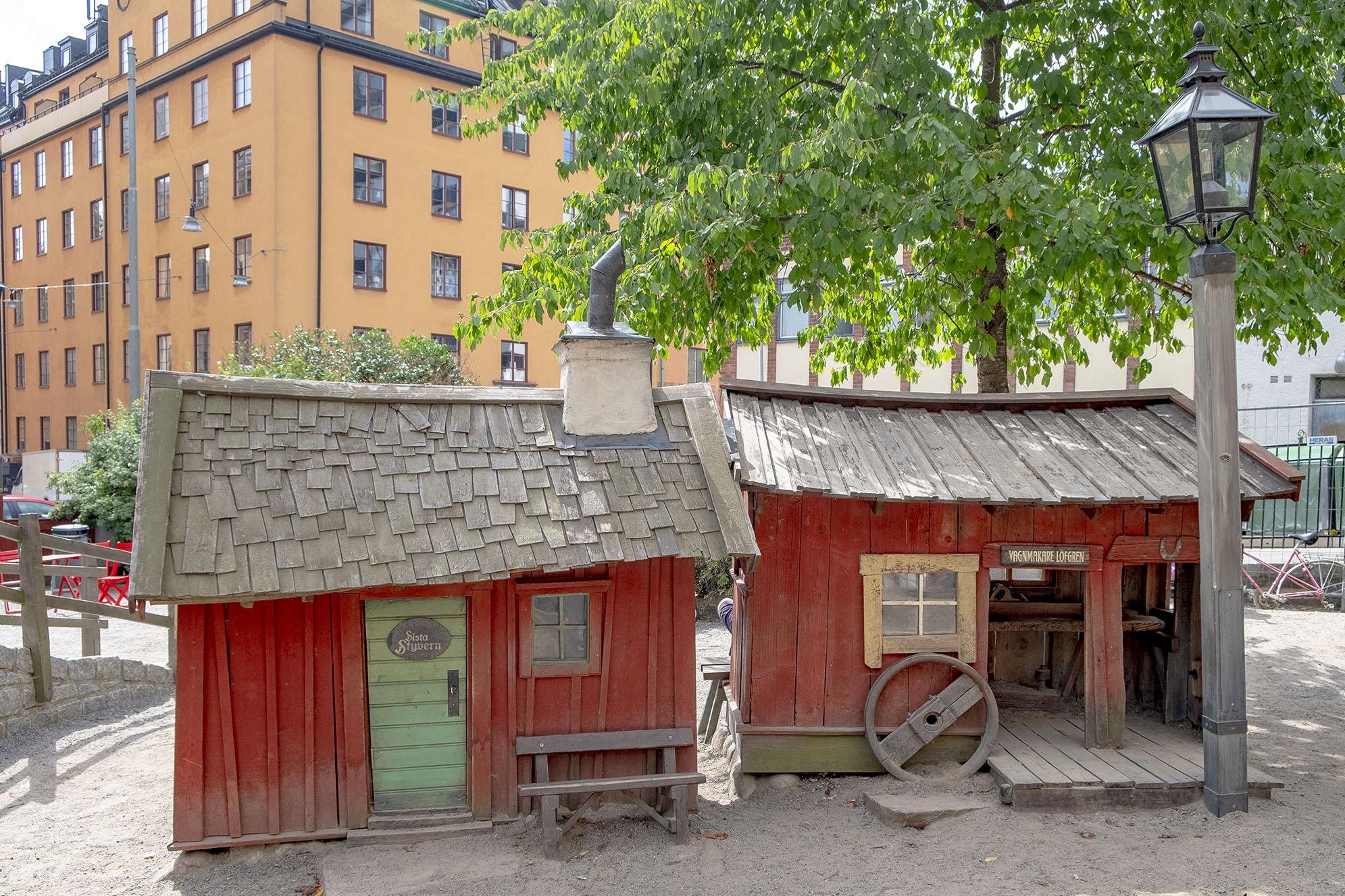 Bryggartäppan Stockholm lekplats