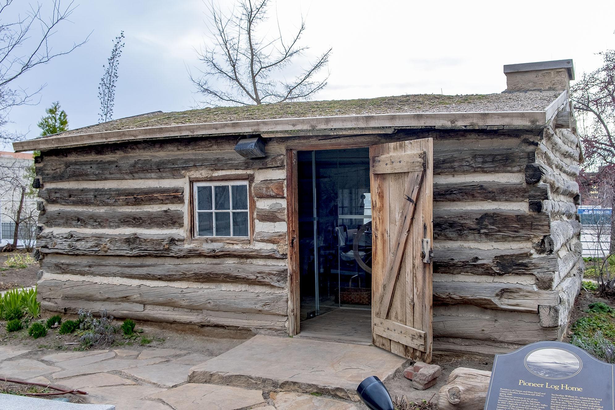 Pioneer Log Home Salt Lake City