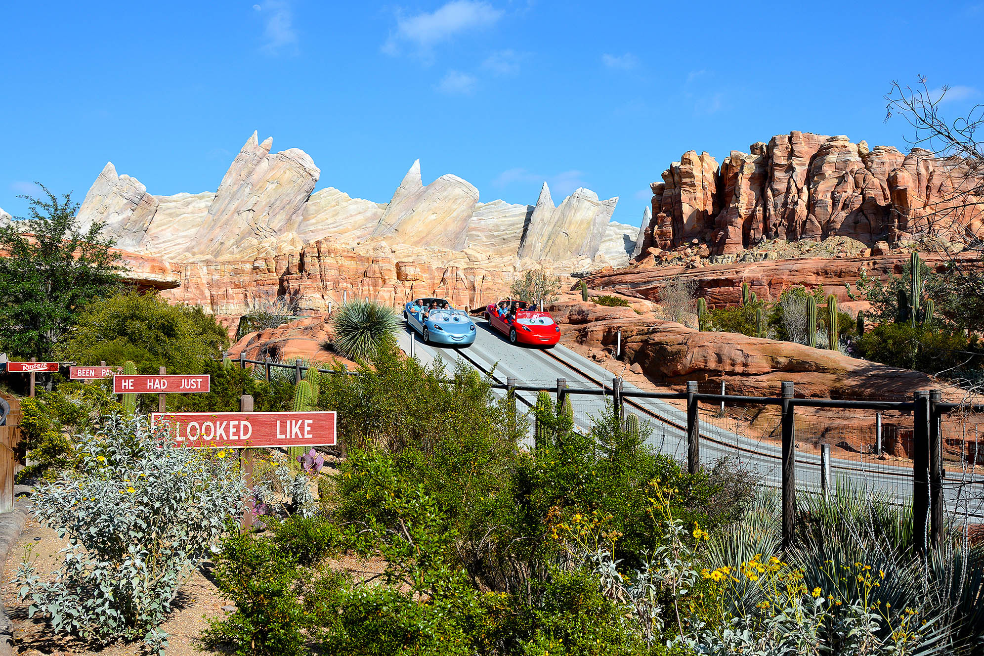 Radiator Springs Racers Disneys California Adventure