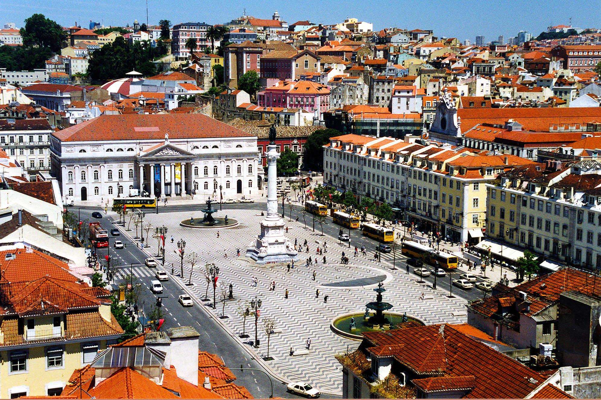 Praça do Rossio Lissabon