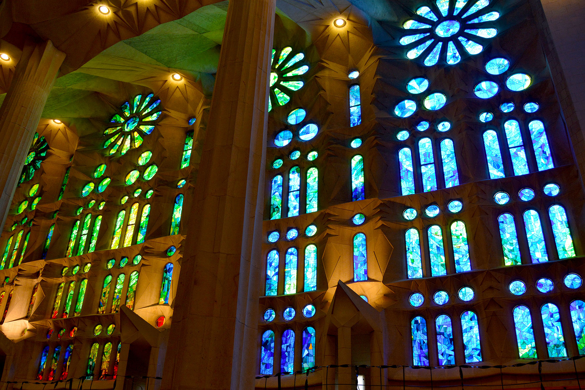 Sagrada Familia Barcelona Mönster