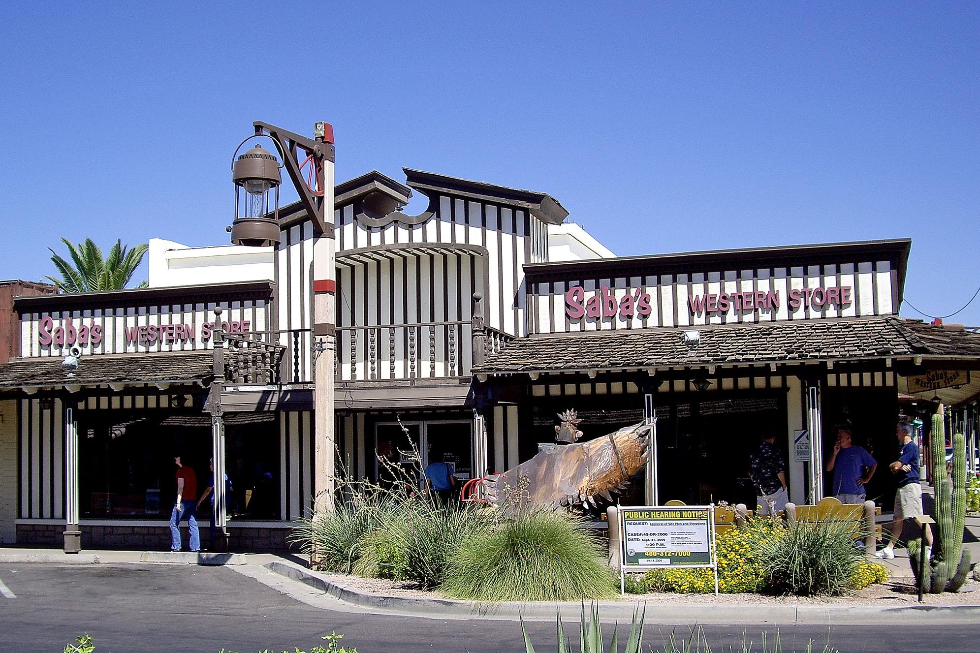 Scottsdale Arizona Mönster