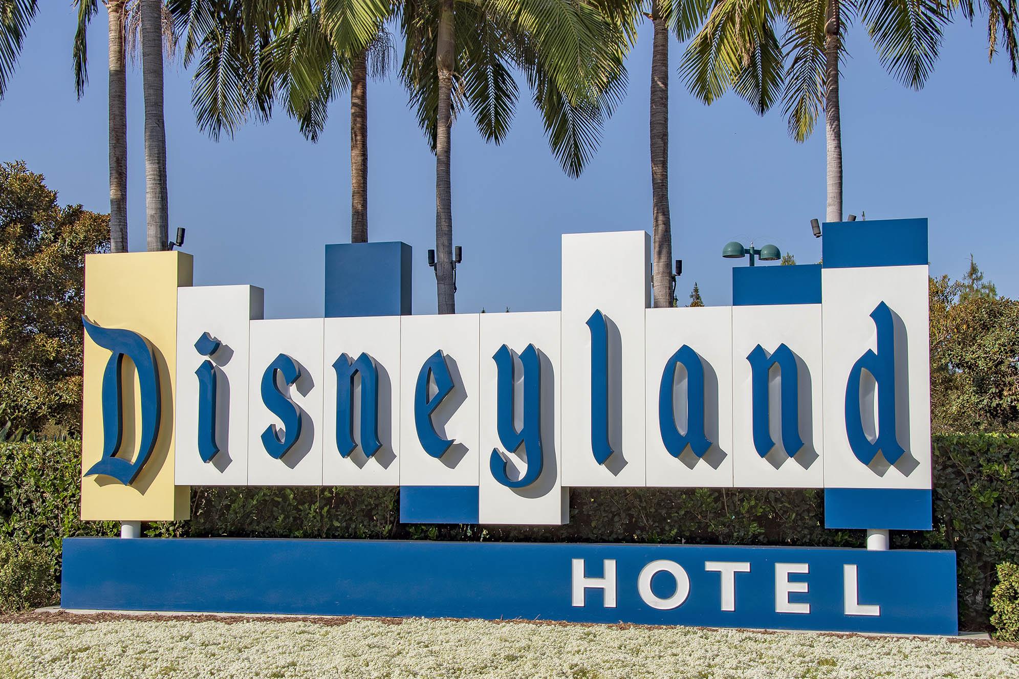 Disneyland Hotel Anaheim Stadsalfabet