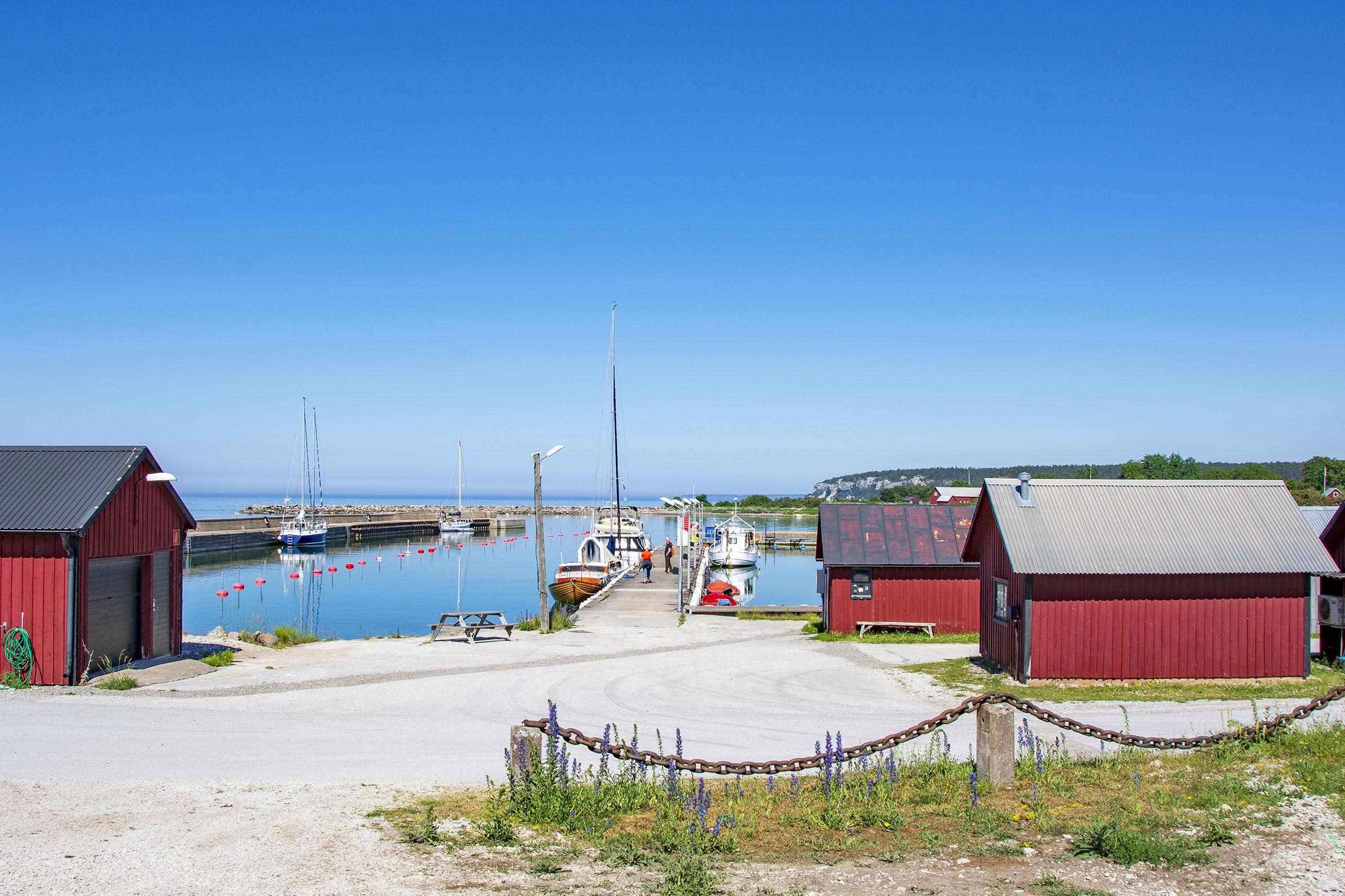 Lickershamn Gotland